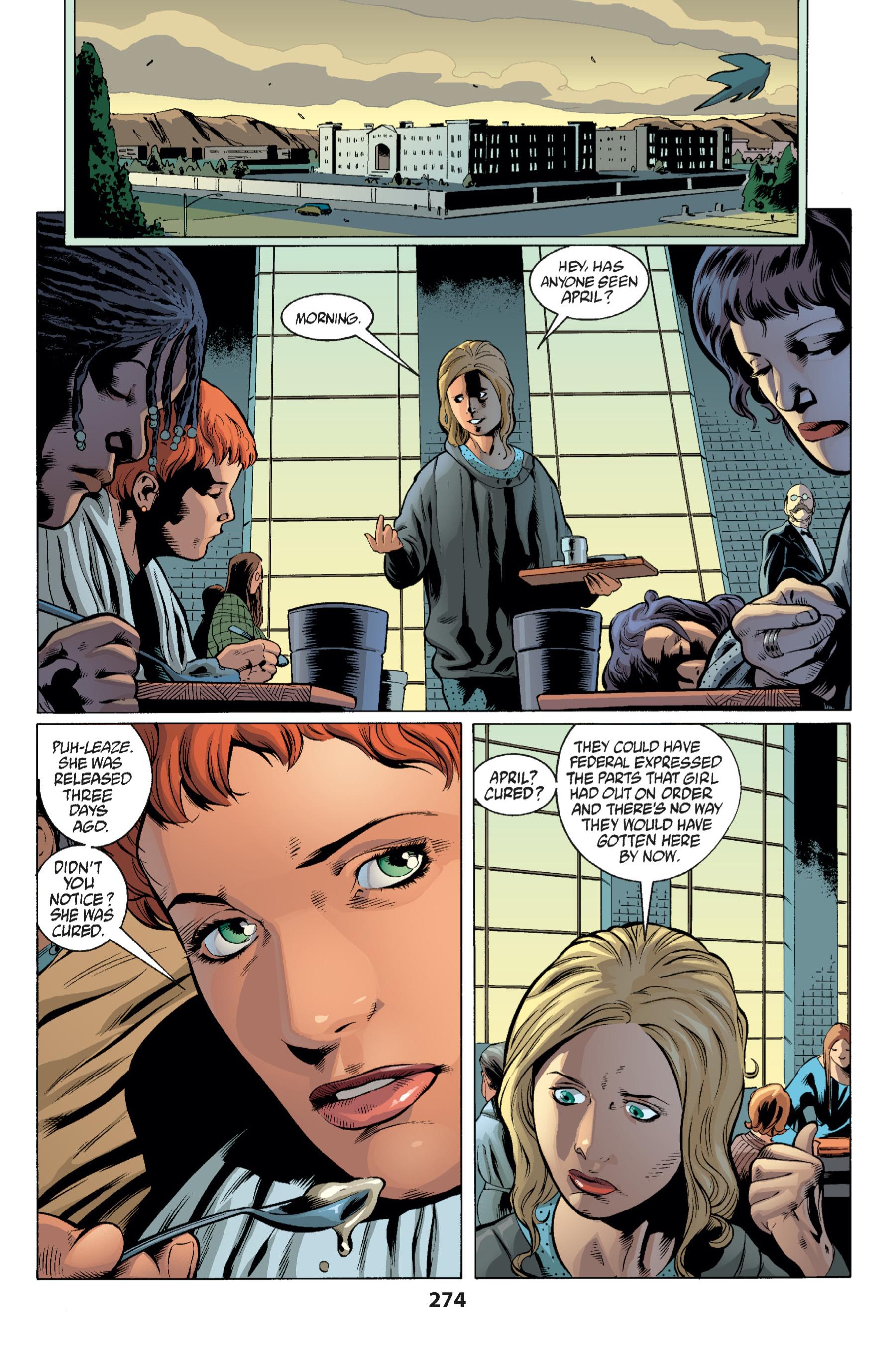Read online Buffy the Vampire Slayer: Omnibus comic -  Issue # TPB 1 - 265