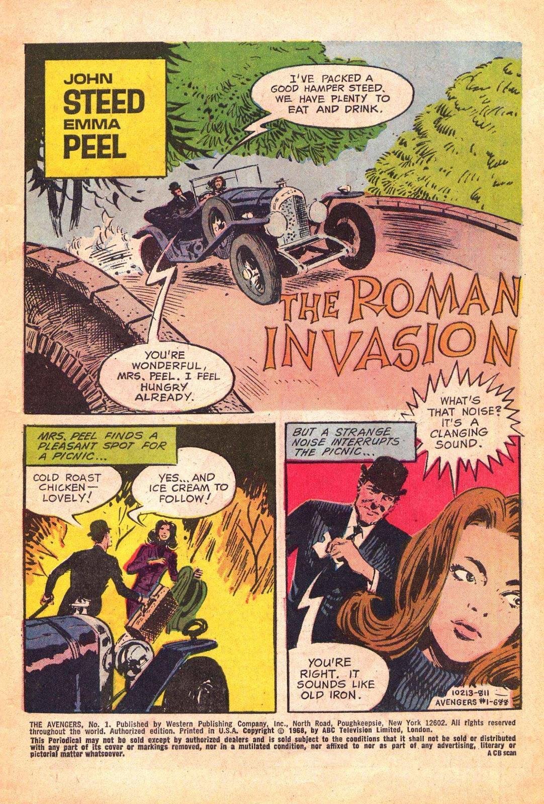 Read online The Avengers (1968) comic -  Issue # Full - 3