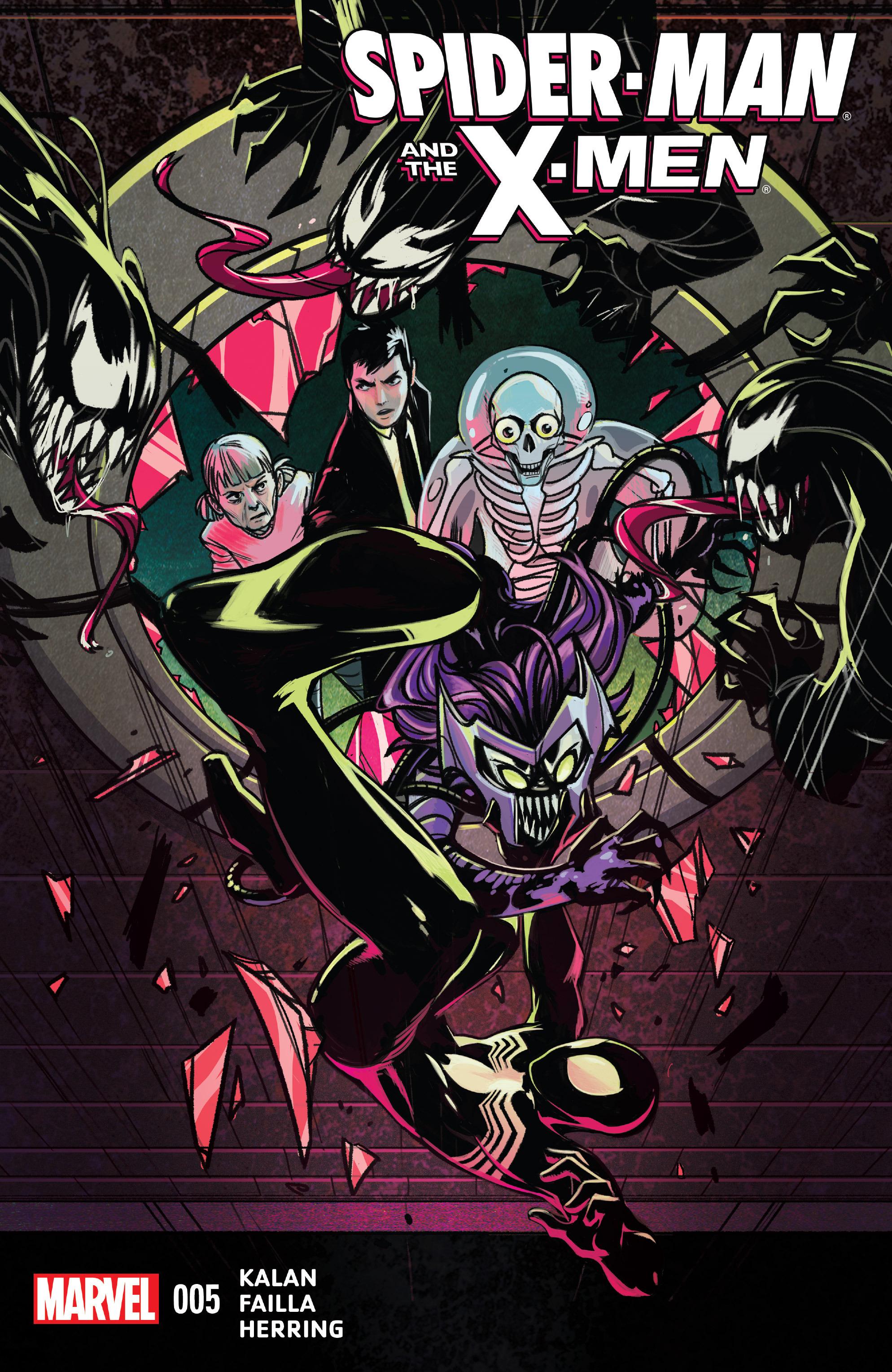 Spider-Man & the X-Men 5 Page 1