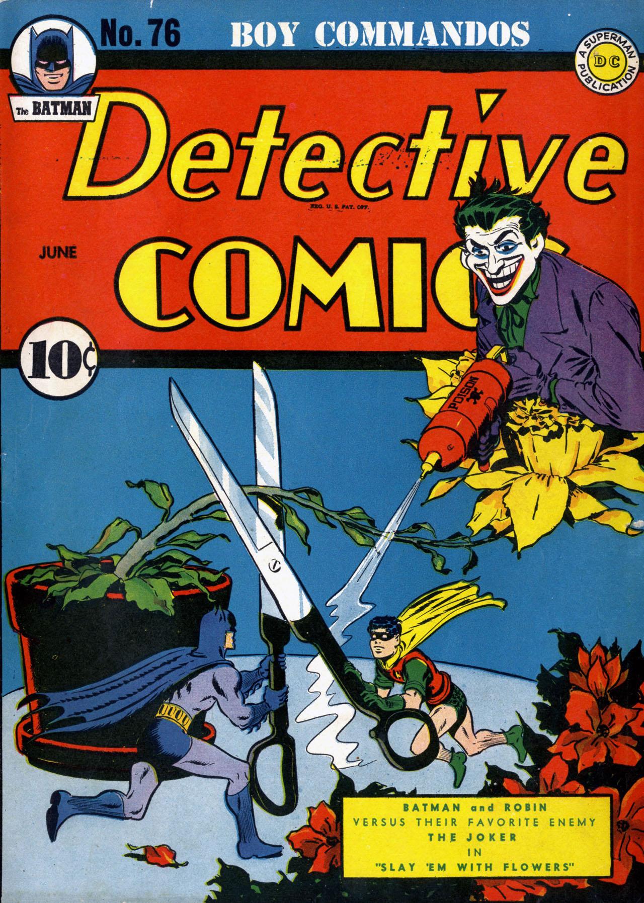 Detective Comics (1937) 76 Page 1