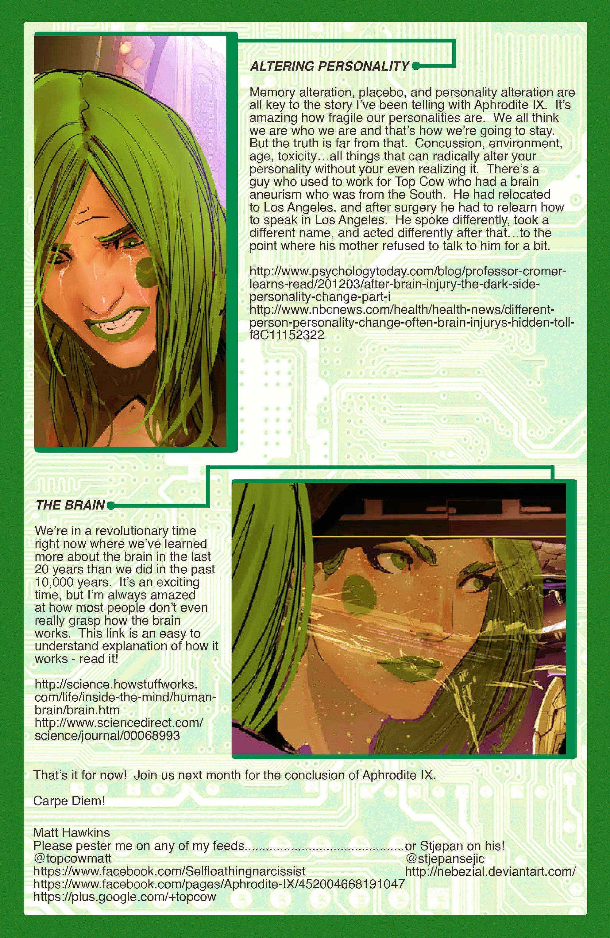 Read online Aphrodite IX (2013) comic -  Issue #10 - 23