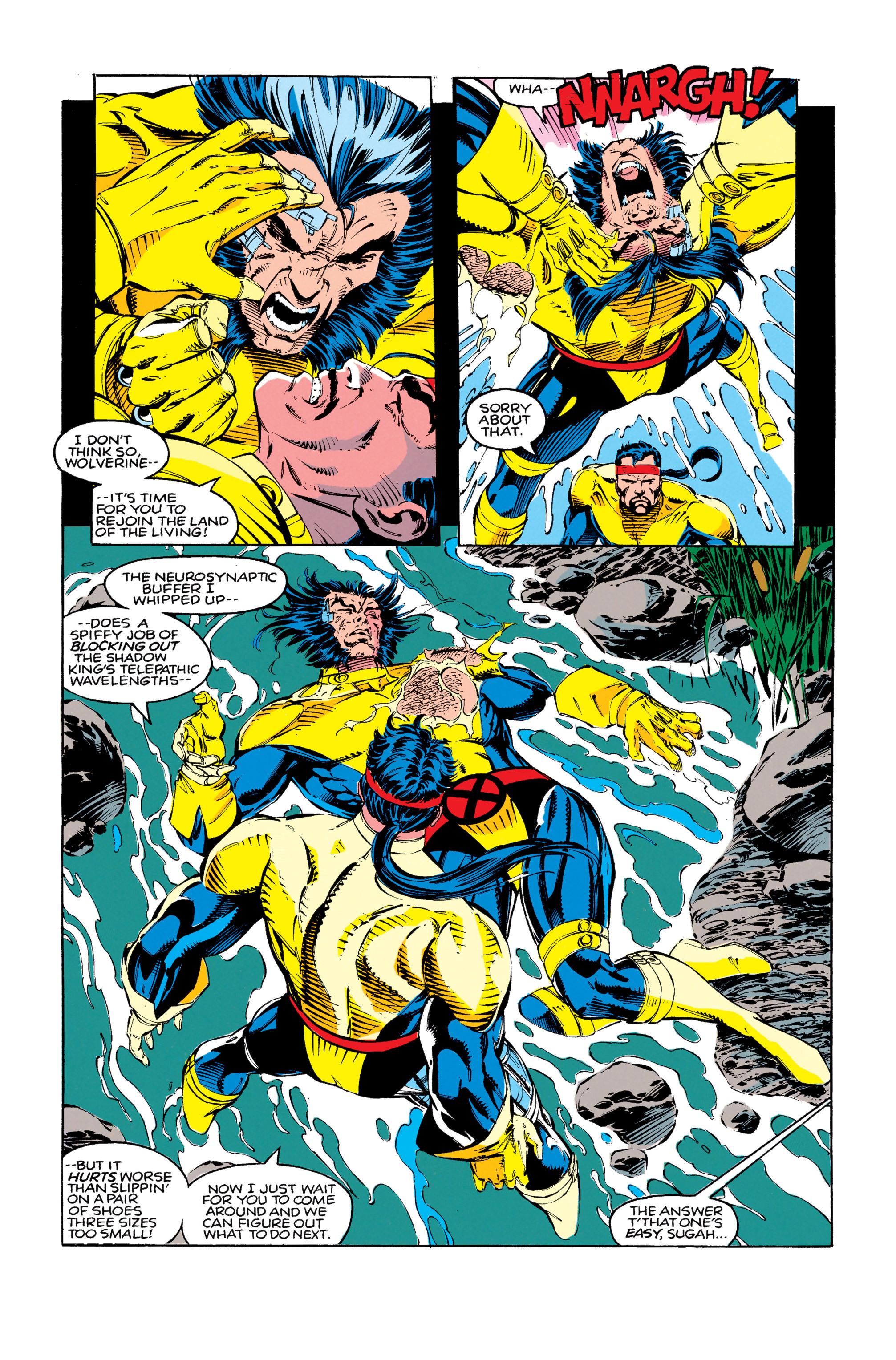 Read online Uncanny X-Men (1963) comic -  Issue #279 - 18