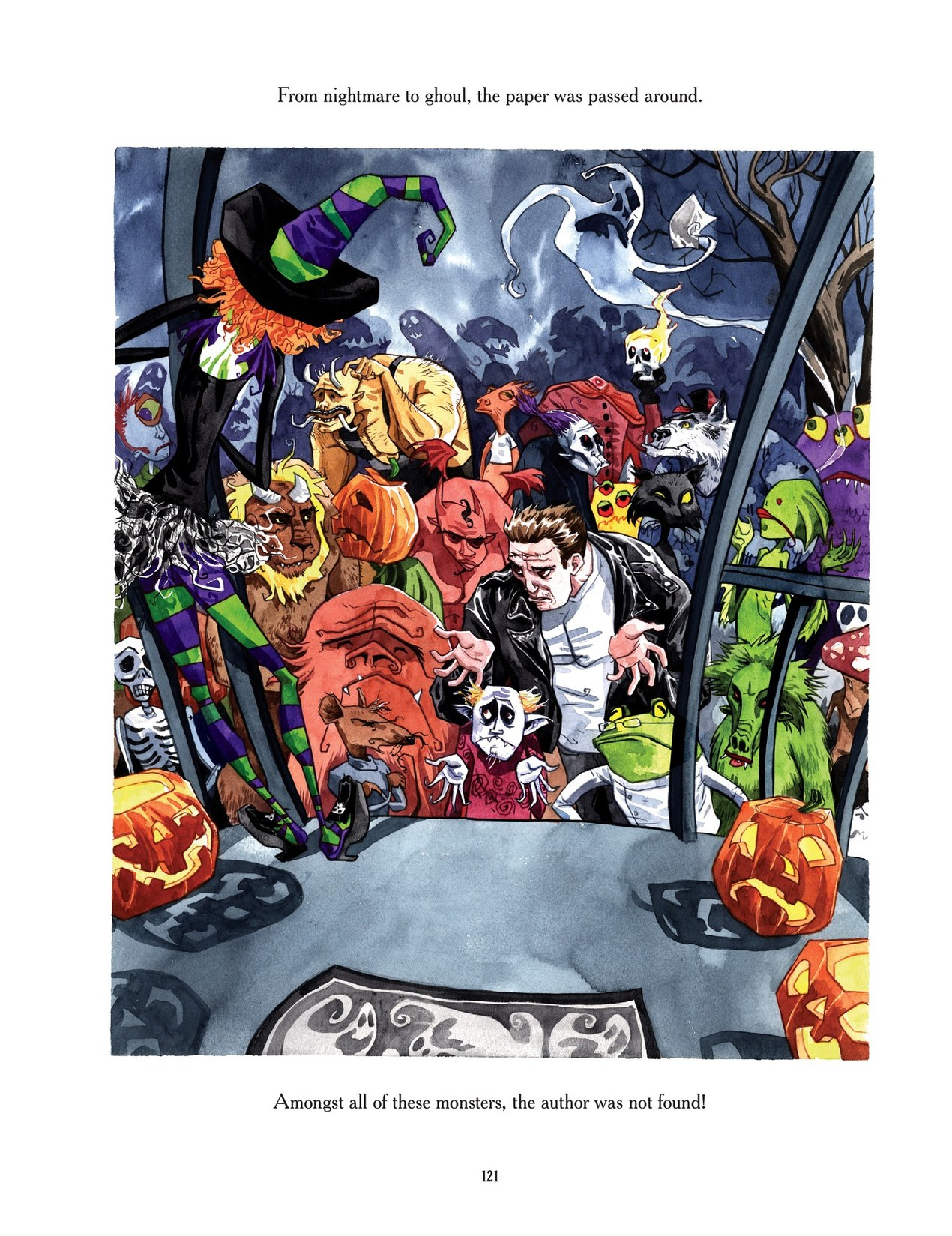 Read online Scary Godmother comic -  Issue # TPB - 121