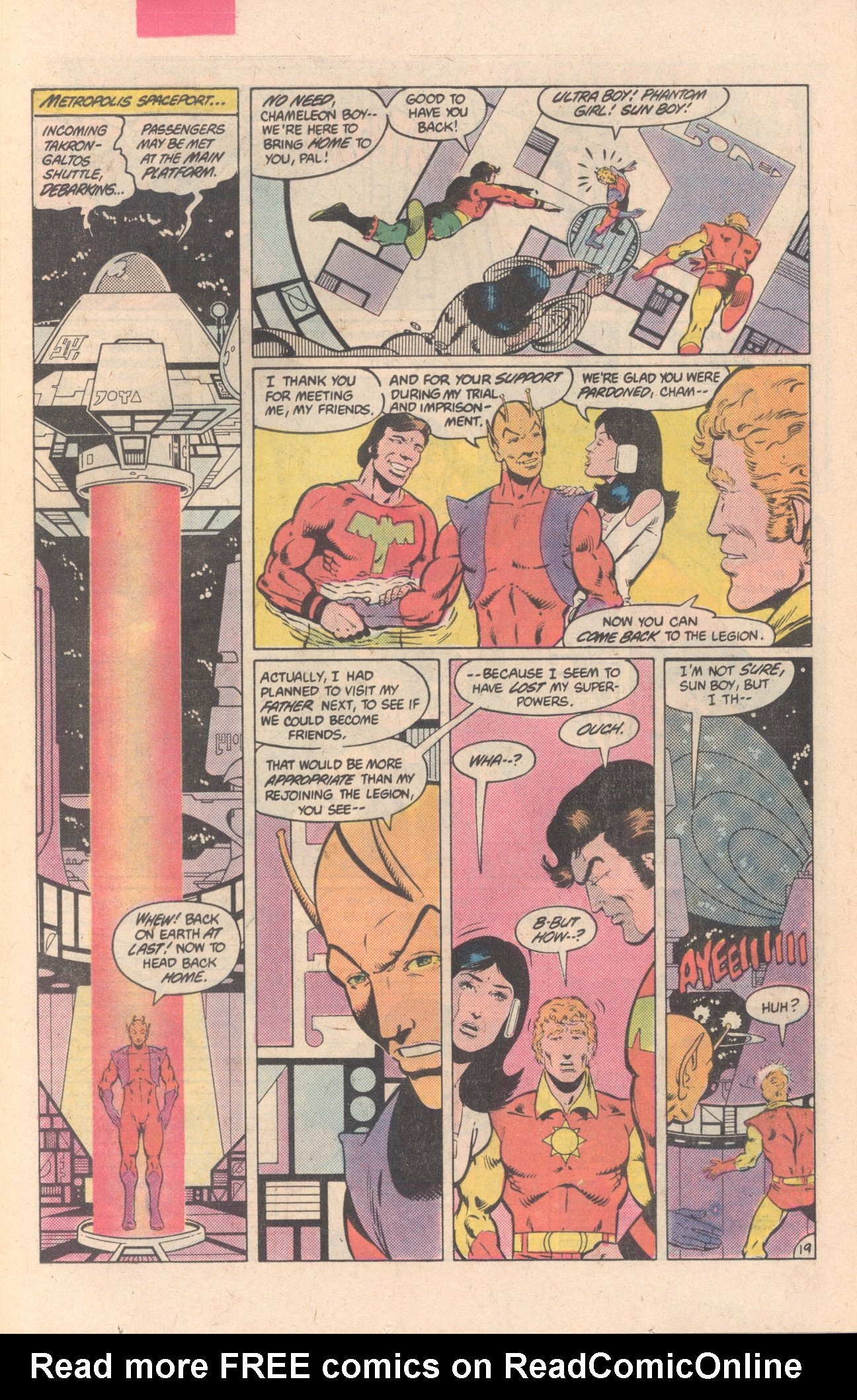 Legion of Super-Heroes (1980) 297 Page 19