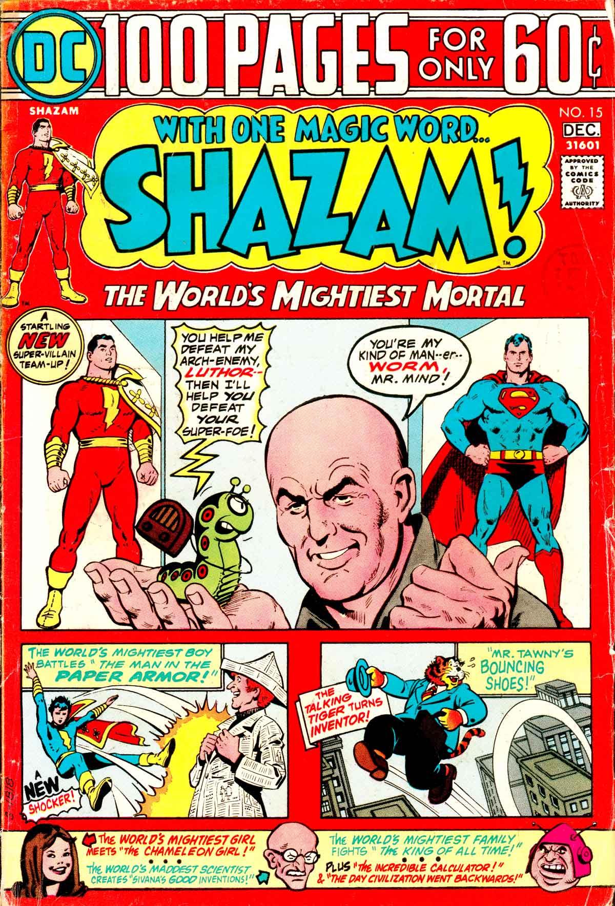 Read online Shazam! (1973) comic -  Issue #15 - 1