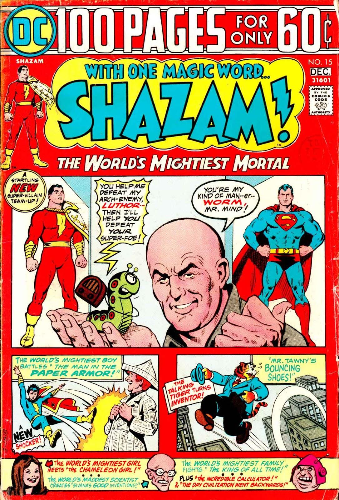 Shazam! (1973) issue 15 - Page 1
