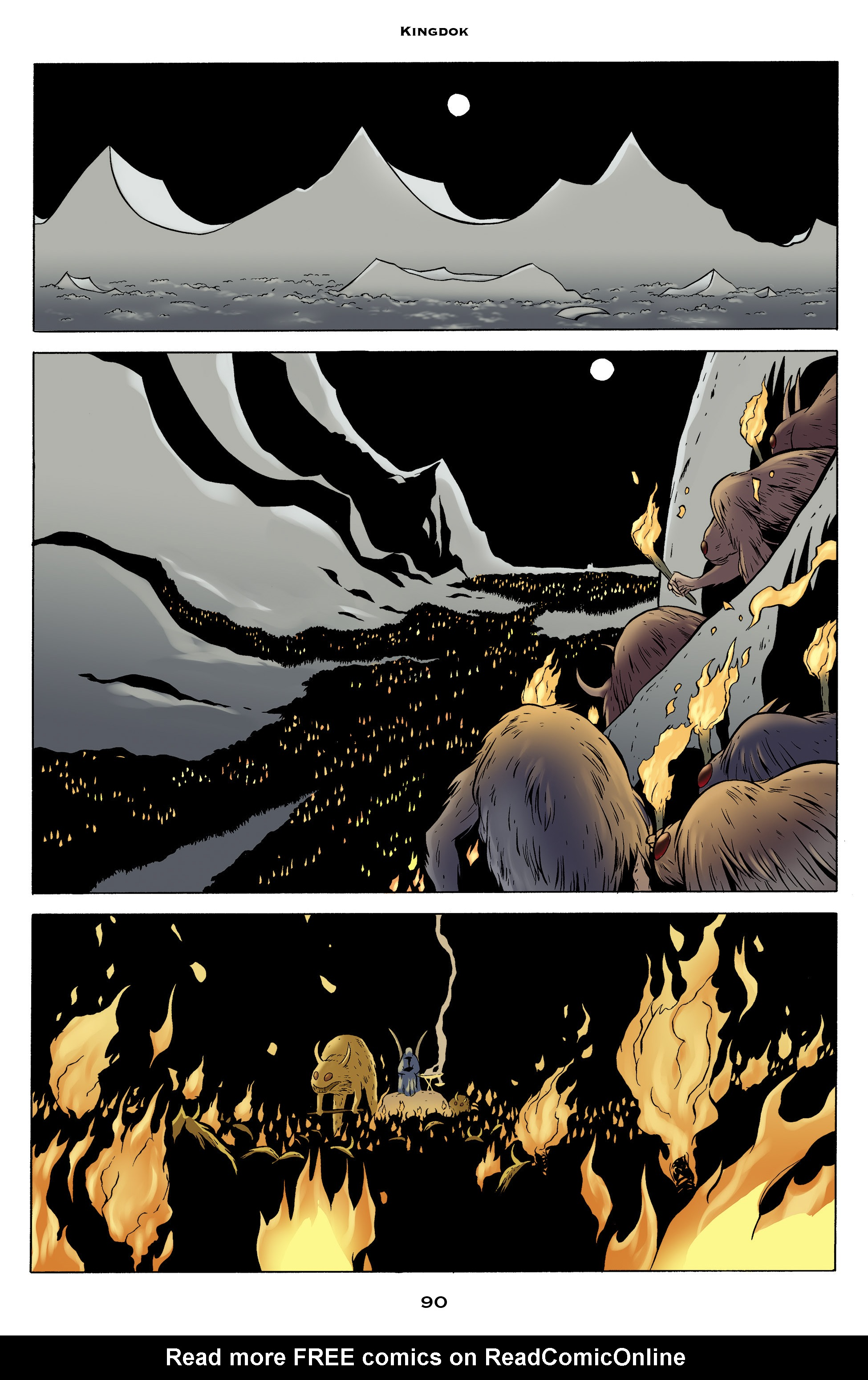 Read online Bone: Out From Boneville comic -  Issue # TPB - 90