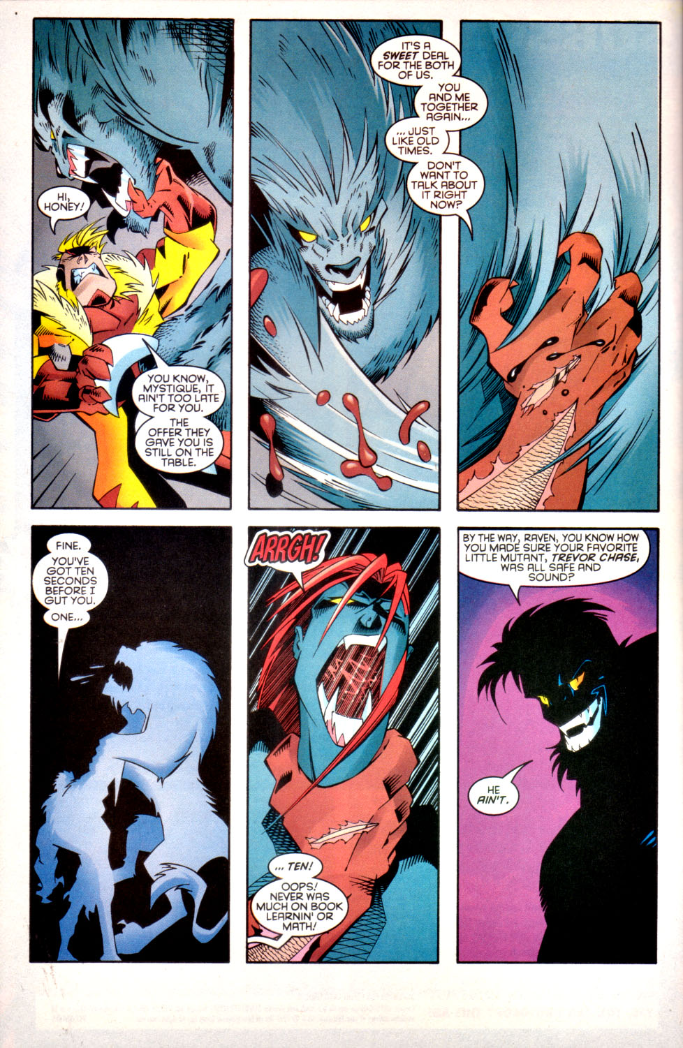 Read online X-Factor (1986) comic -  Issue #136 - 21