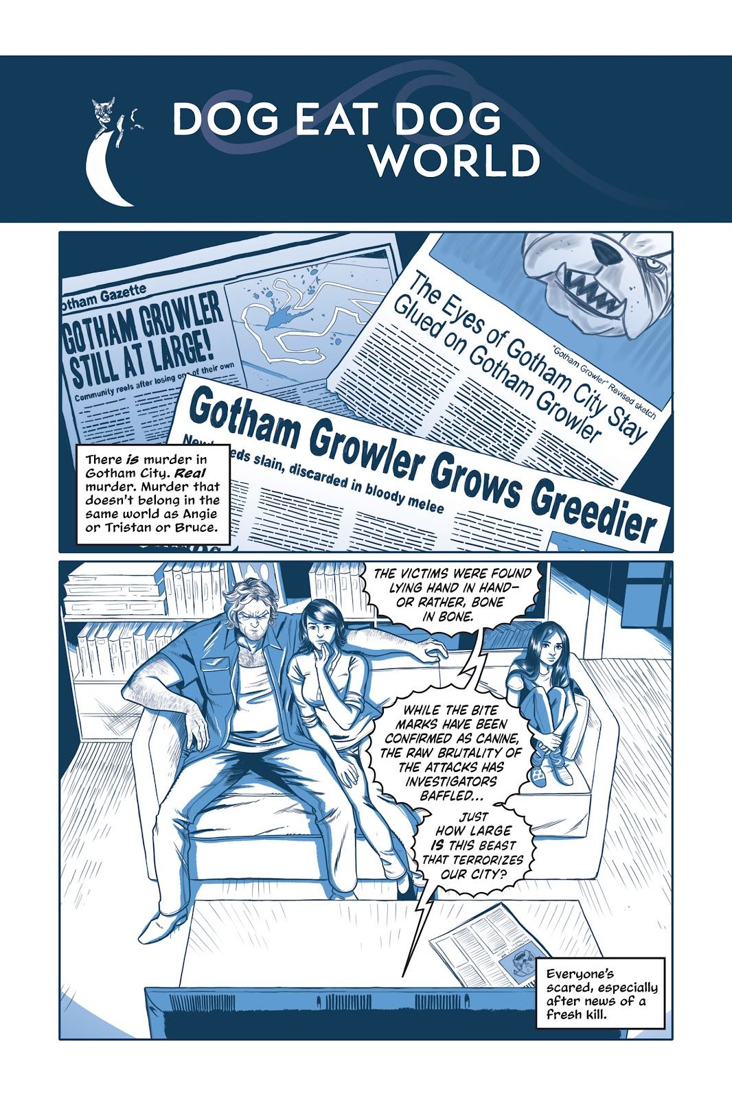 Read online Under the Moon: A Catwoman Tale comic -  Issue # TPB (Part 1) - 39