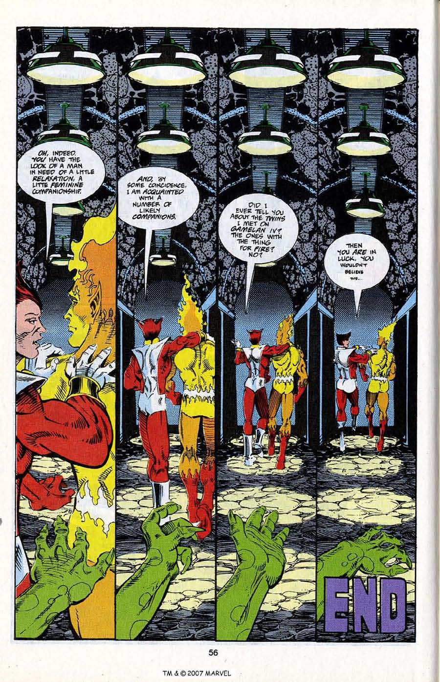 Read online Silver Surfer (1987) comic -  Issue # _Annual 5 - 58