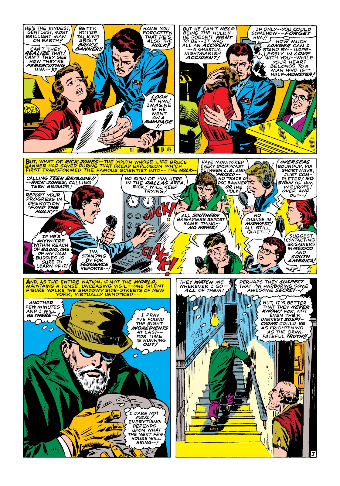 Read online Marvel Masterworks: The Incredible Hulk comic -  Issue # TPB 3 (Part 2) - 42