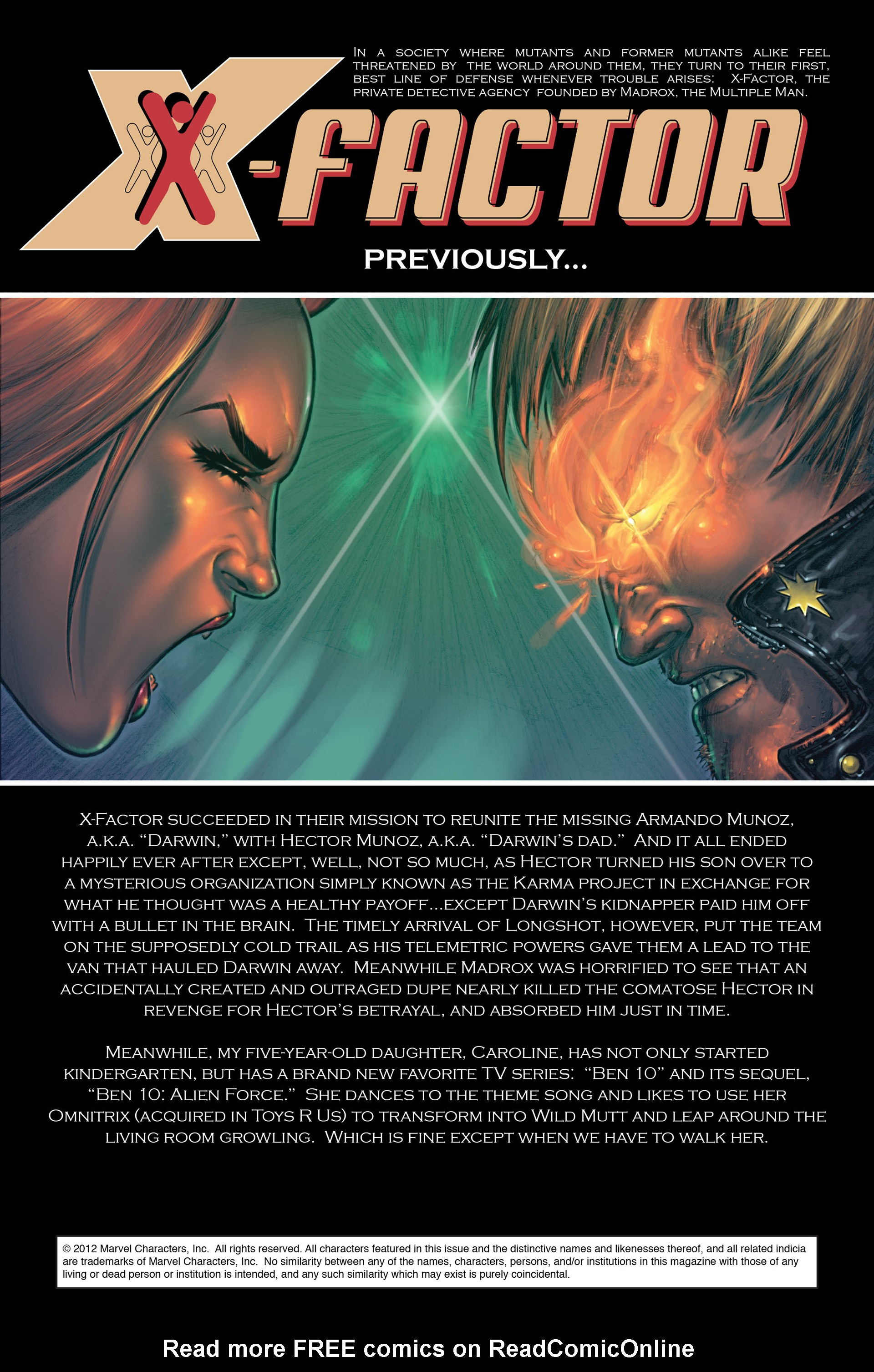 Read online X-Factor (2006) comic -  Issue #36 - 2