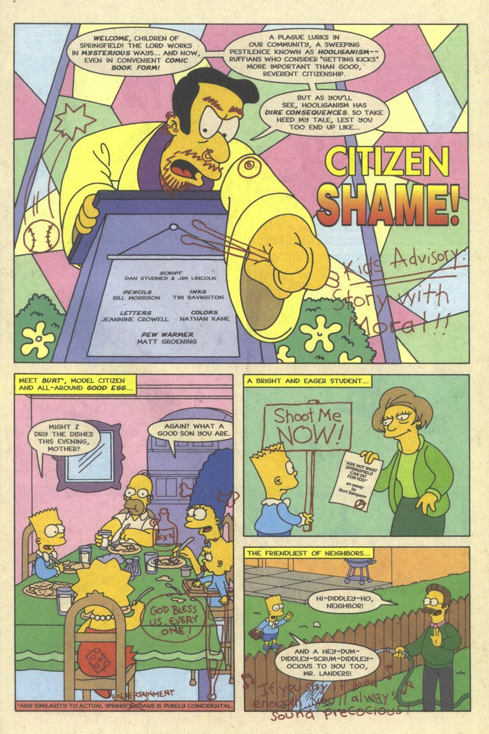 Read online Simpsons Comics comic -  Issue #23 - 27