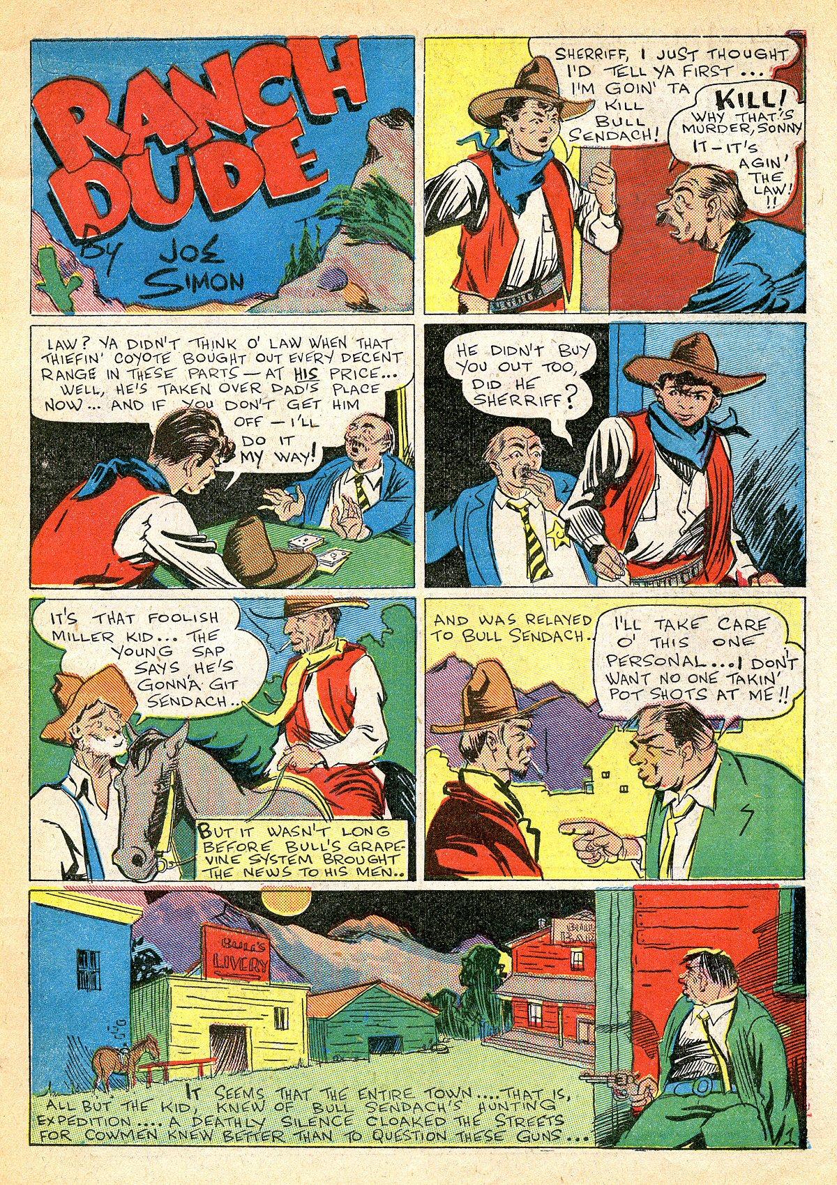 Read online Amazing Man Comics comic -  Issue #10 - 14