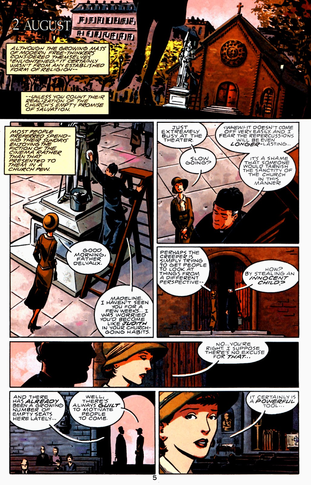 Read online Beware The Creeper (2003) comic -  Issue #3 - 6