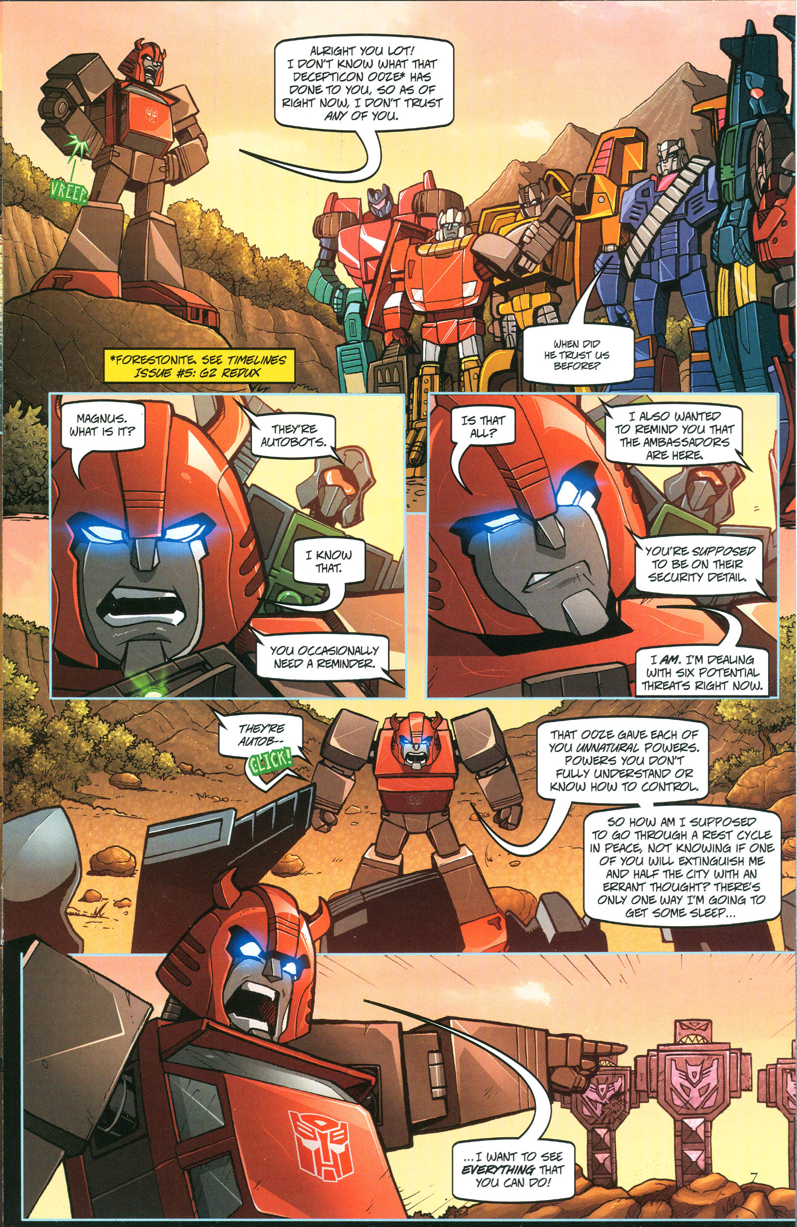 Read online Transformers: Collectors' Club comic -  Issue #44 - 7