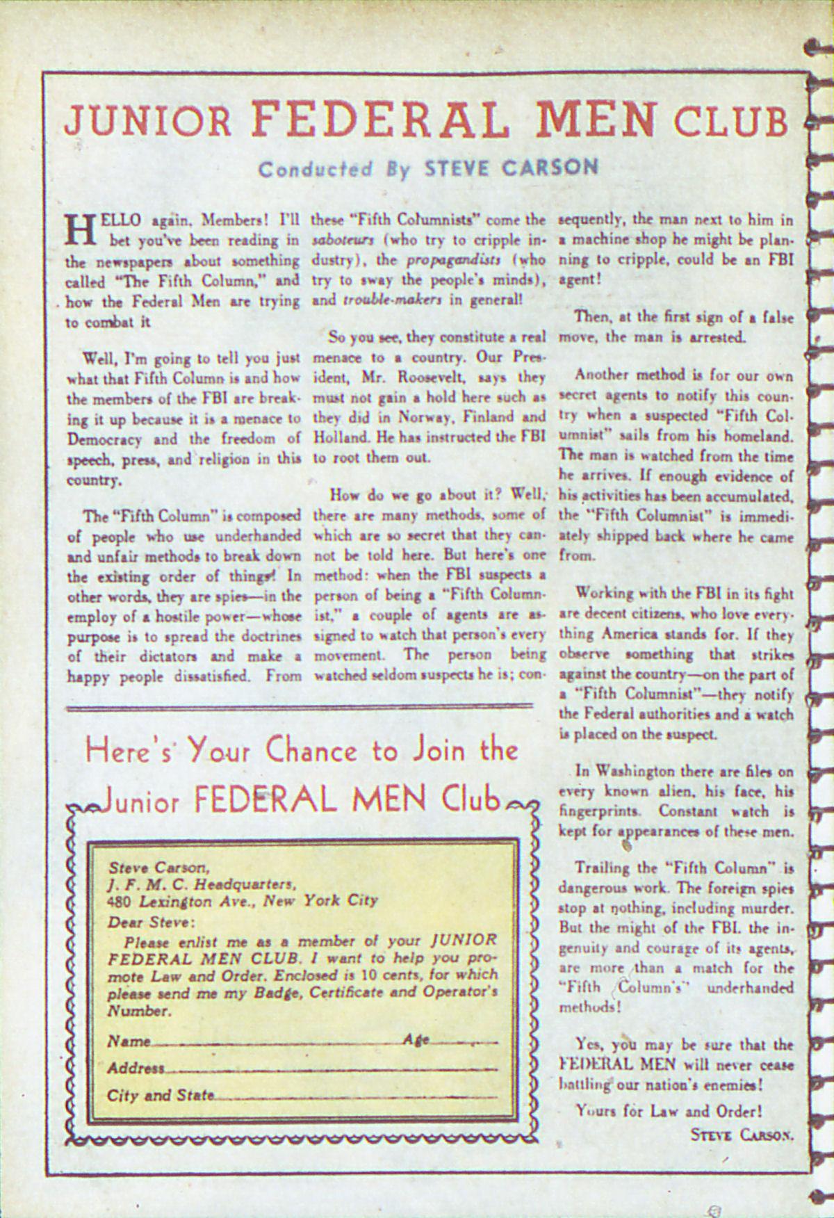 Read online Adventure Comics (1938) comic -  Issue #54 - 31
