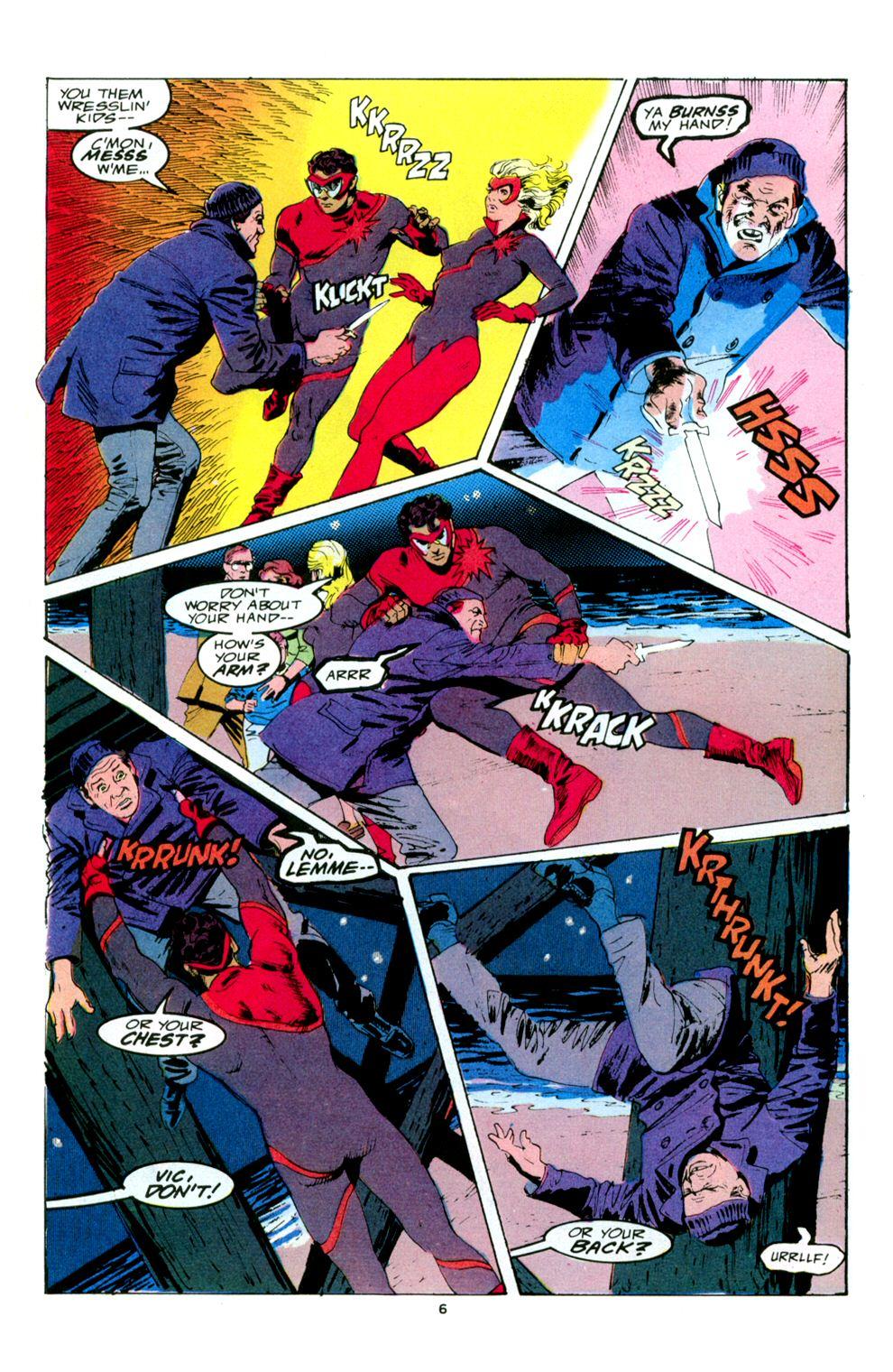 Read online Powerline comic -  Issue #5 - 8