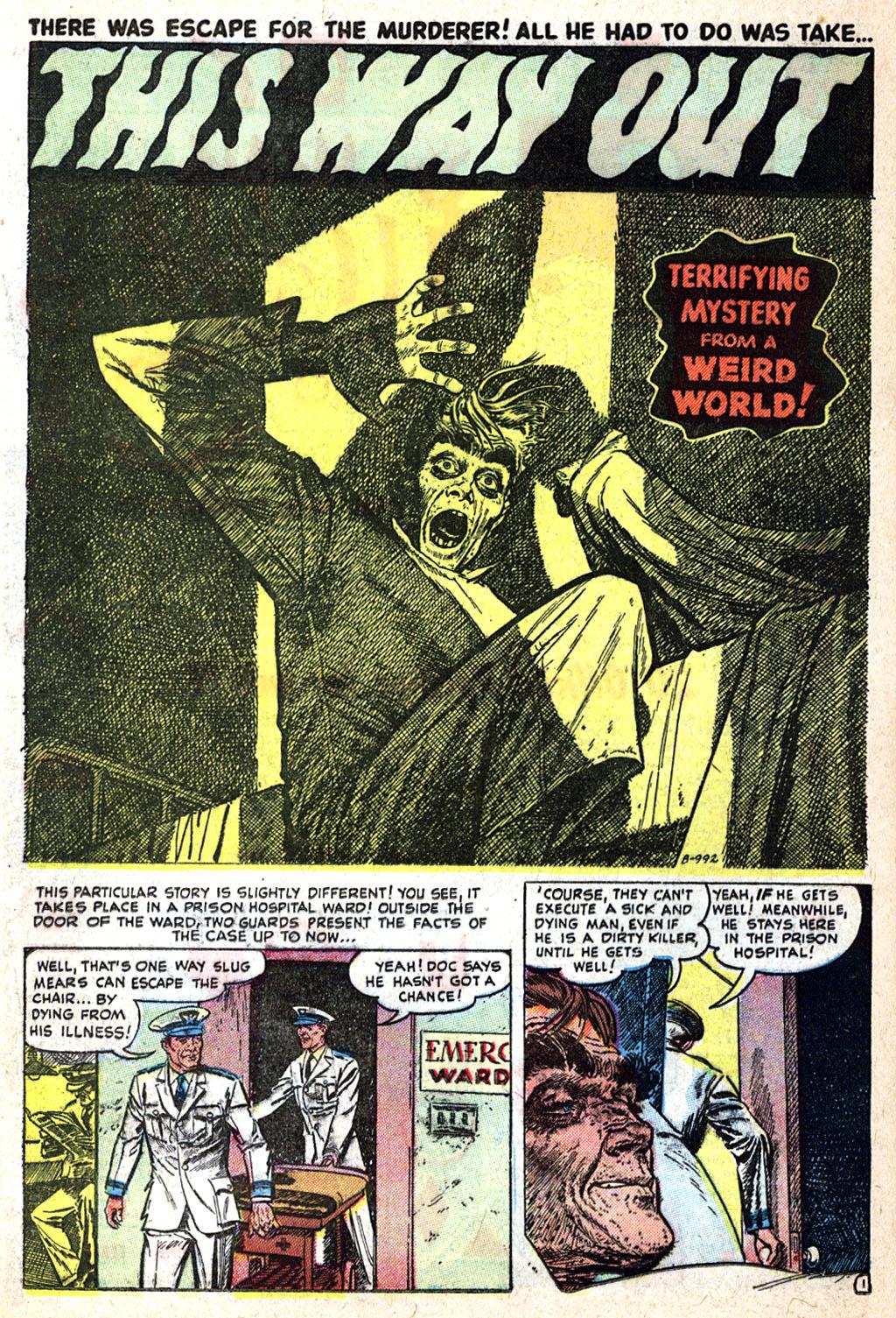 Read online Adventures into Weird Worlds comic -  Issue #17 - 16