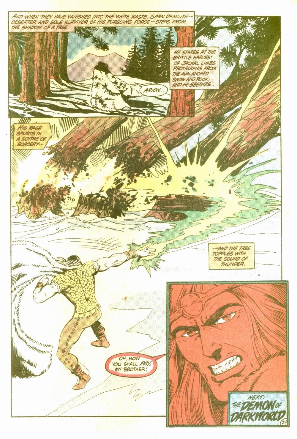 Read online Arion, Lord of Atlantis comic -  Issue #5 - 24