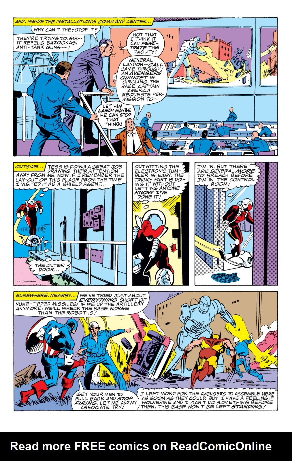 Read online Captain America (1968) comic -  Issue # _Annual 8 - 34
