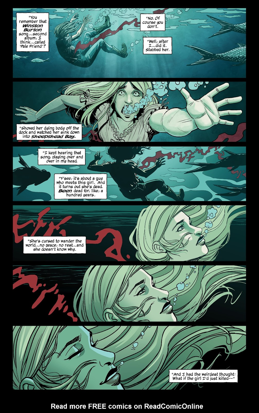 Read online The Girl In The Bay comic -  Issue #3 - 3