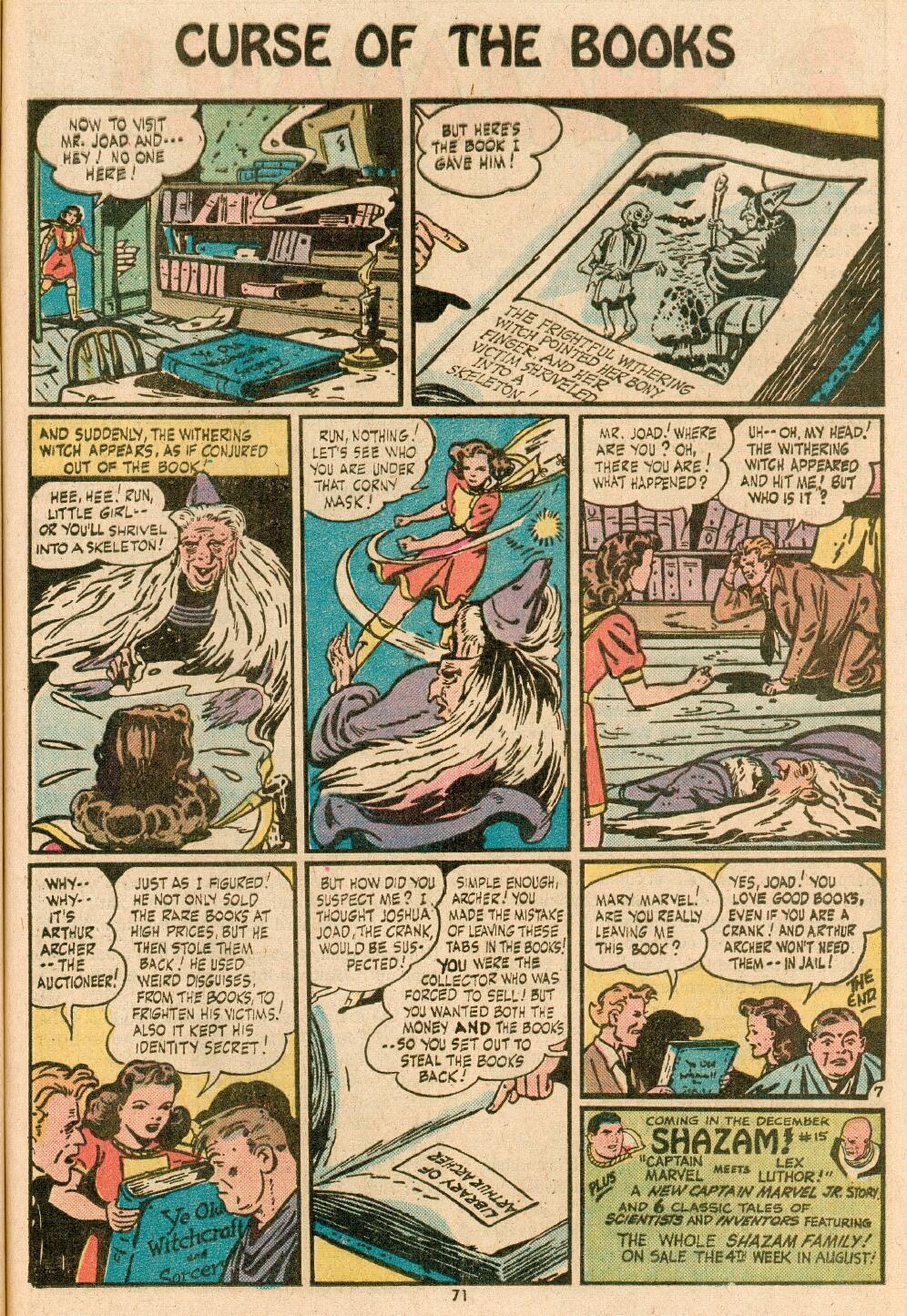Read online Shazam! (1973) comic -  Issue #14 - 59