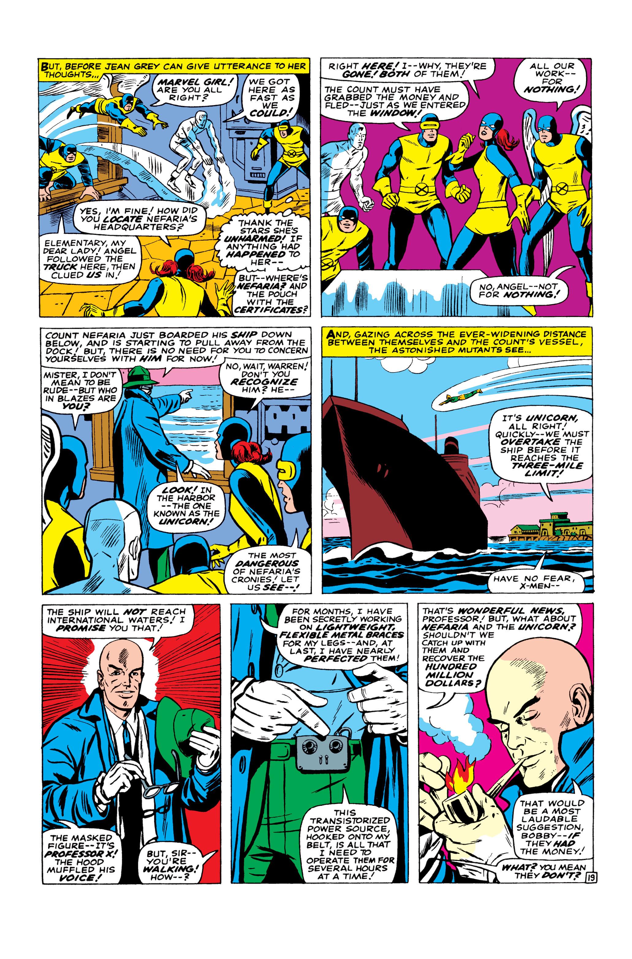 Read online Uncanny X-Men (1963) comic -  Issue #23 - 20