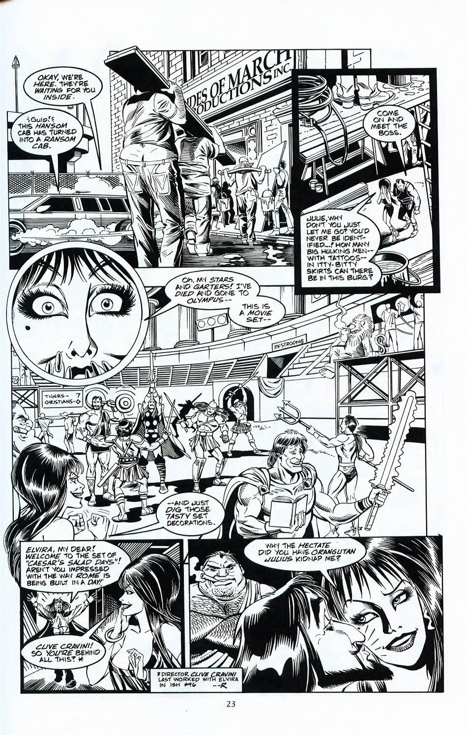 Read online Elvira, Mistress of the Dark comic -  Issue #117 - 20