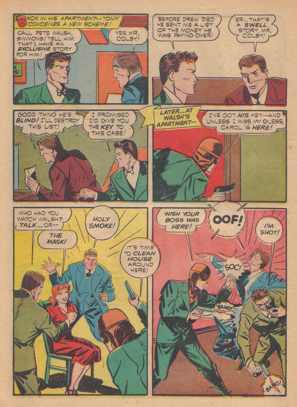 Exciting Comics (1940) issue 13 - Page 42