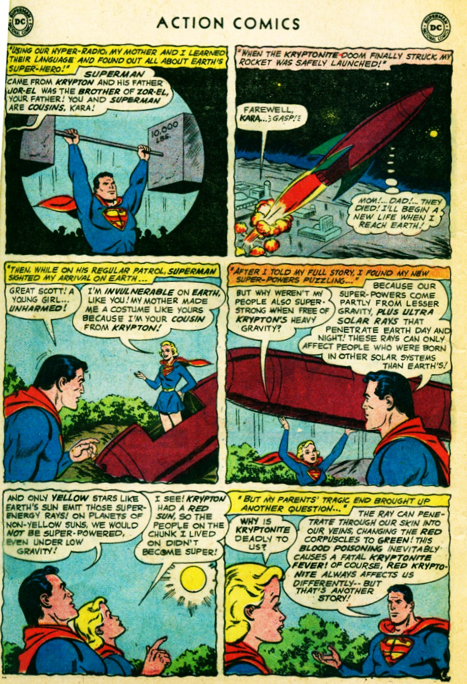 Read online Action Comics (1938) comic -  Issue #262 - 24