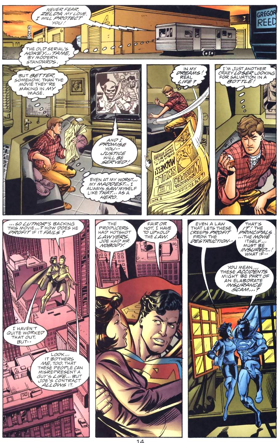 Read online Adventures of Superman (1987) comic -  Issue #571 - 16
