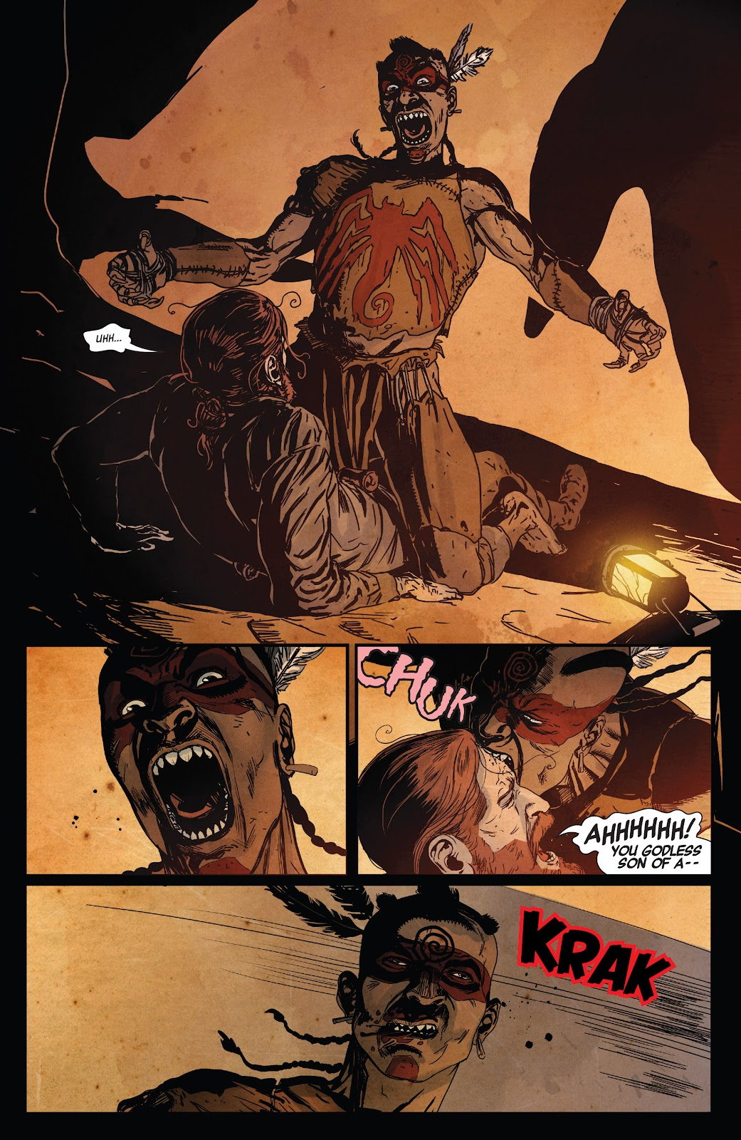 Read online Ruins Of Ravencroft comic -  Issue # Carnage - 15