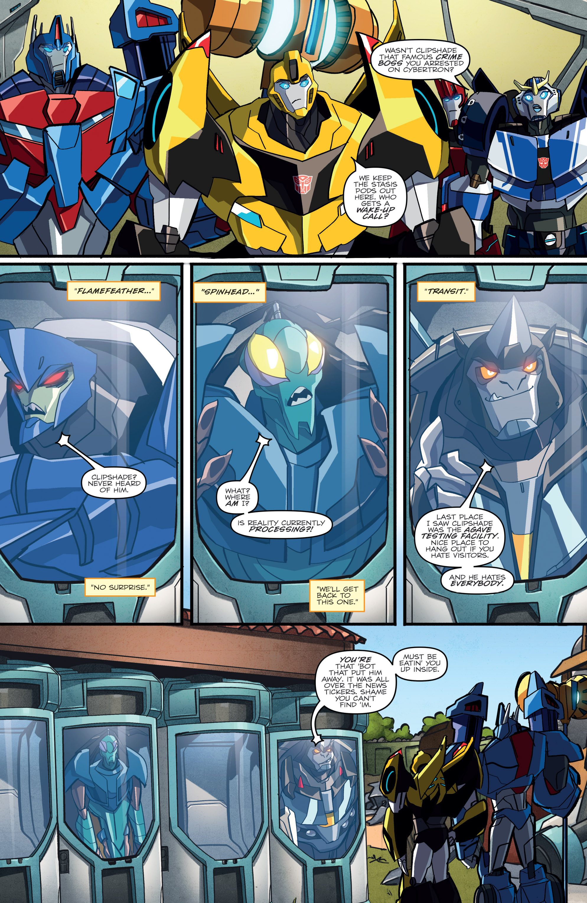 Read online Transformers: Robots In Disguise (2015) comic -  Issue #2 - 14