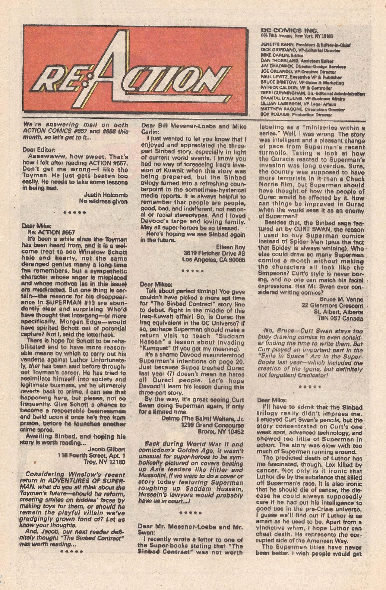 Read online Action Comics (1938) comic -  Issue #662 - 32