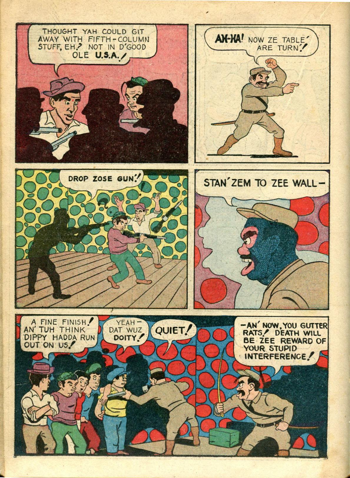 Read online Shadow Comics comic -  Issue #10 - 34