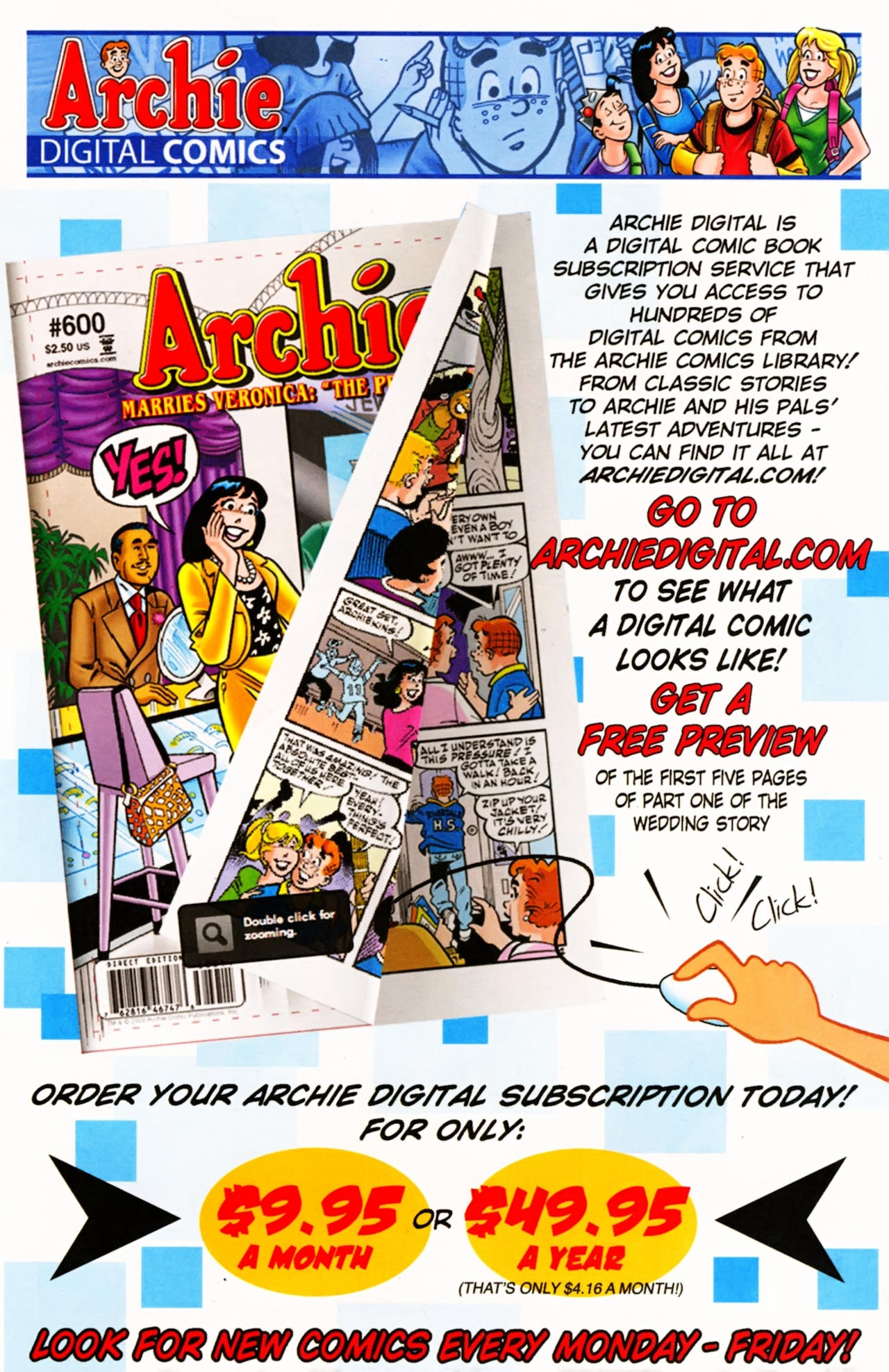 Read online Archie (1960) comic -  Issue #603 - 10