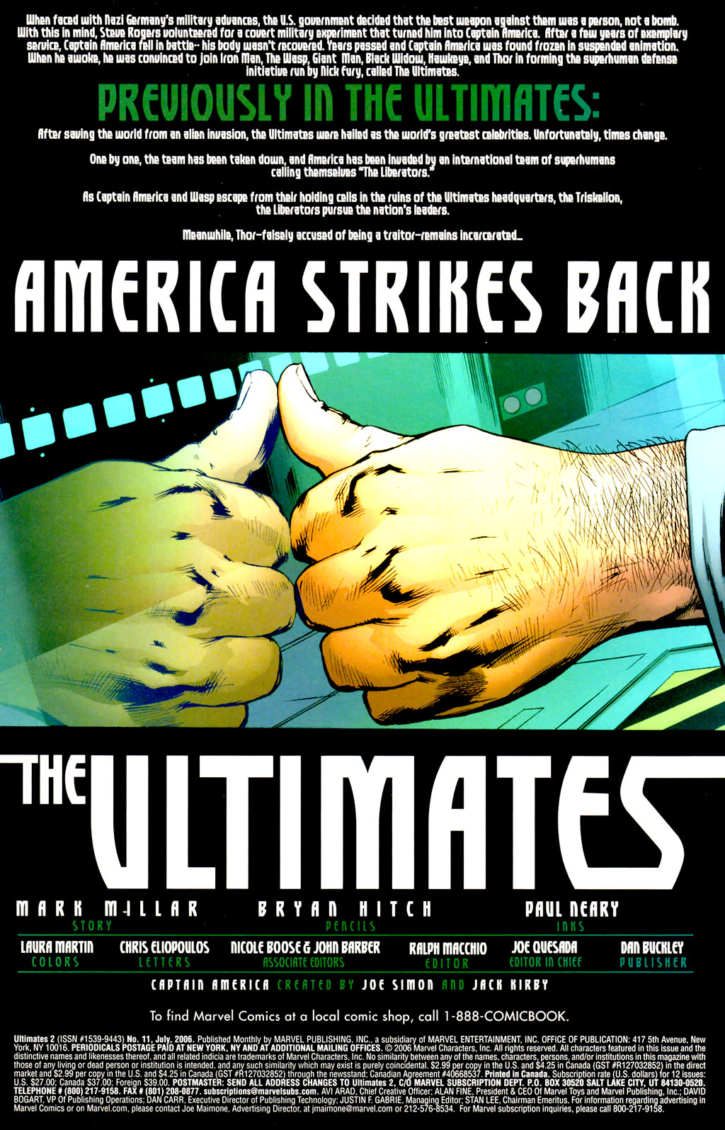 Read online Ultimates 2 comic -  Issue #11 - 2