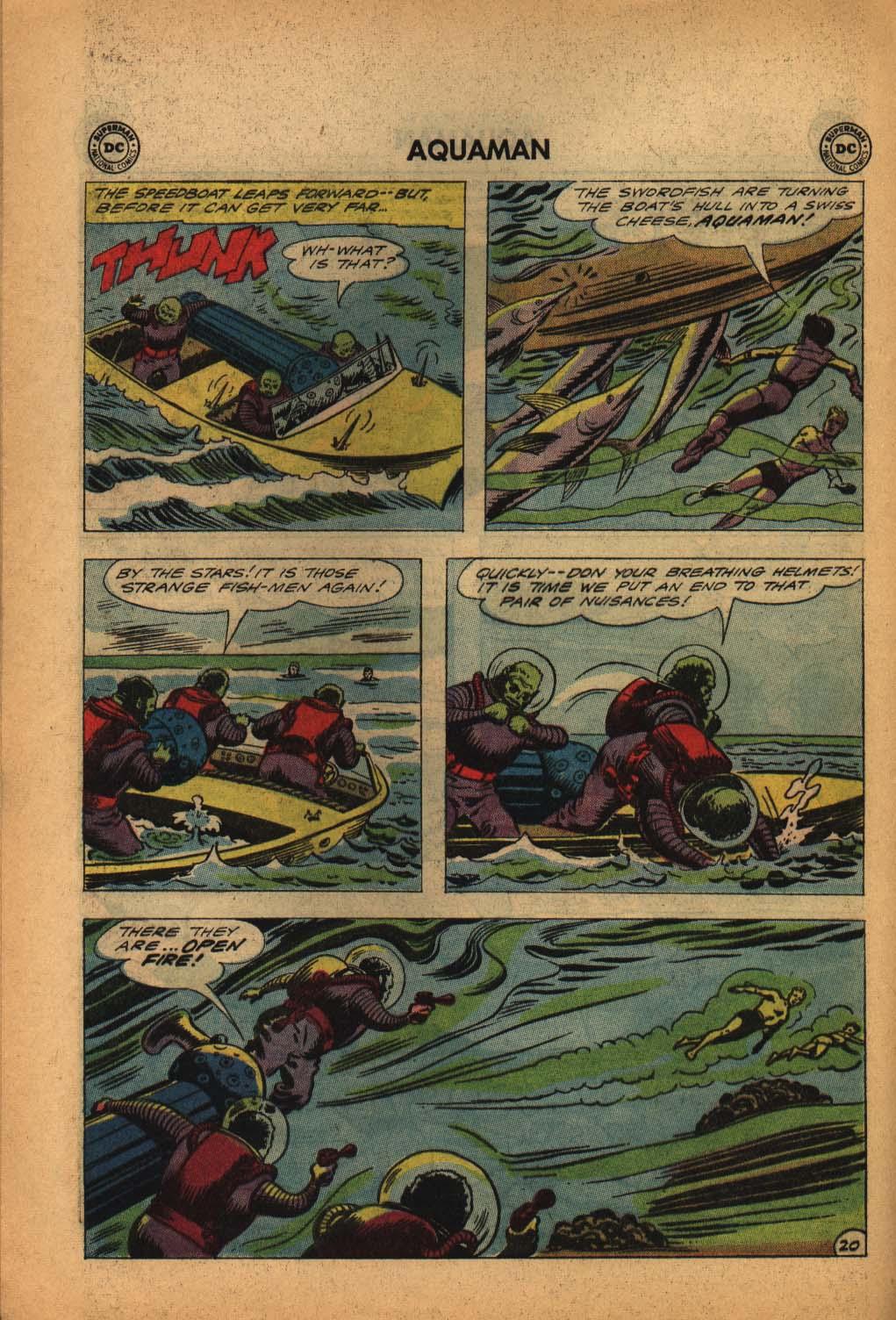 Read online Aquaman (1962) comic -  Issue #4 - 28