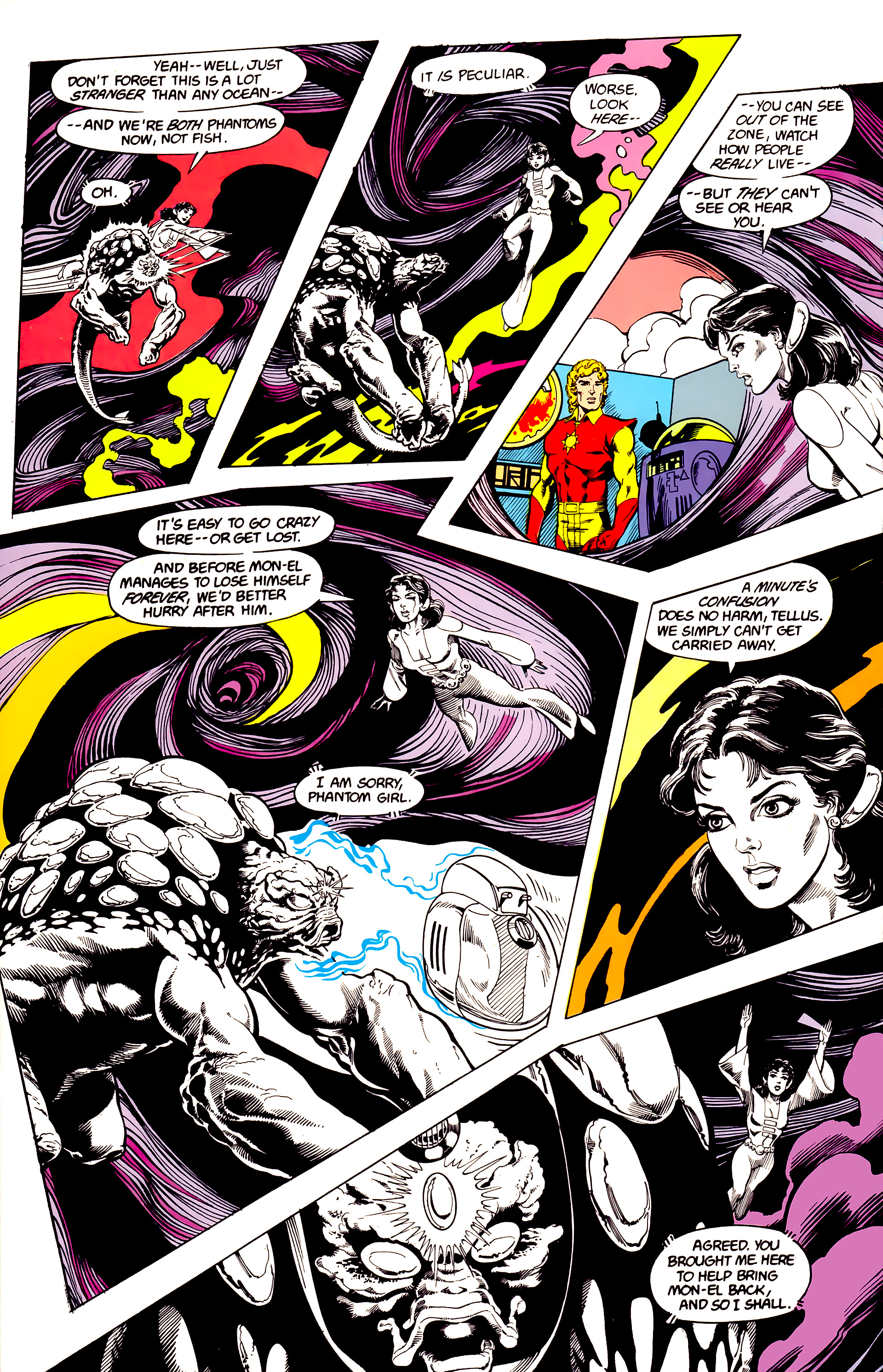 Legion of Super-Heroes (1984) 23 Page 15