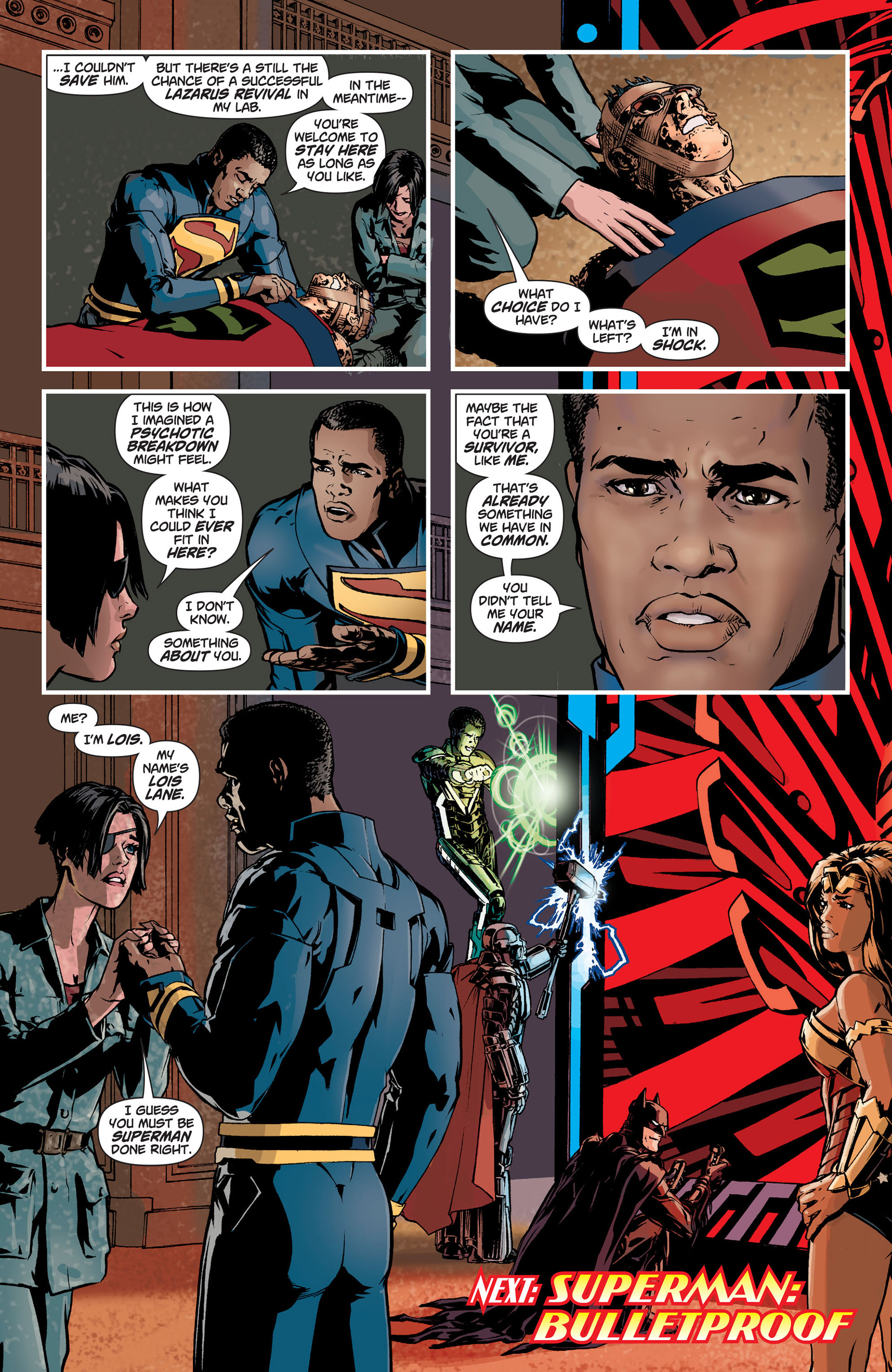 Read online Action Comics (2011) comic -  Issue #9 - 23
