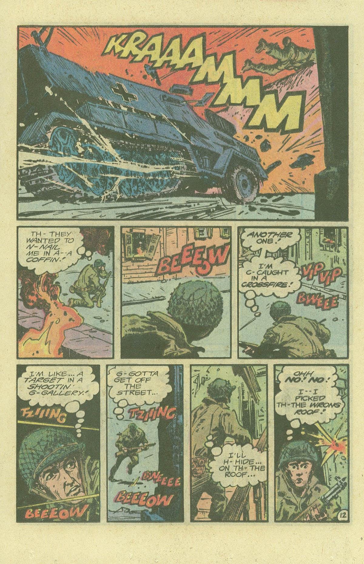 Read online Sgt. Rock comic -  Issue #380 - 16
