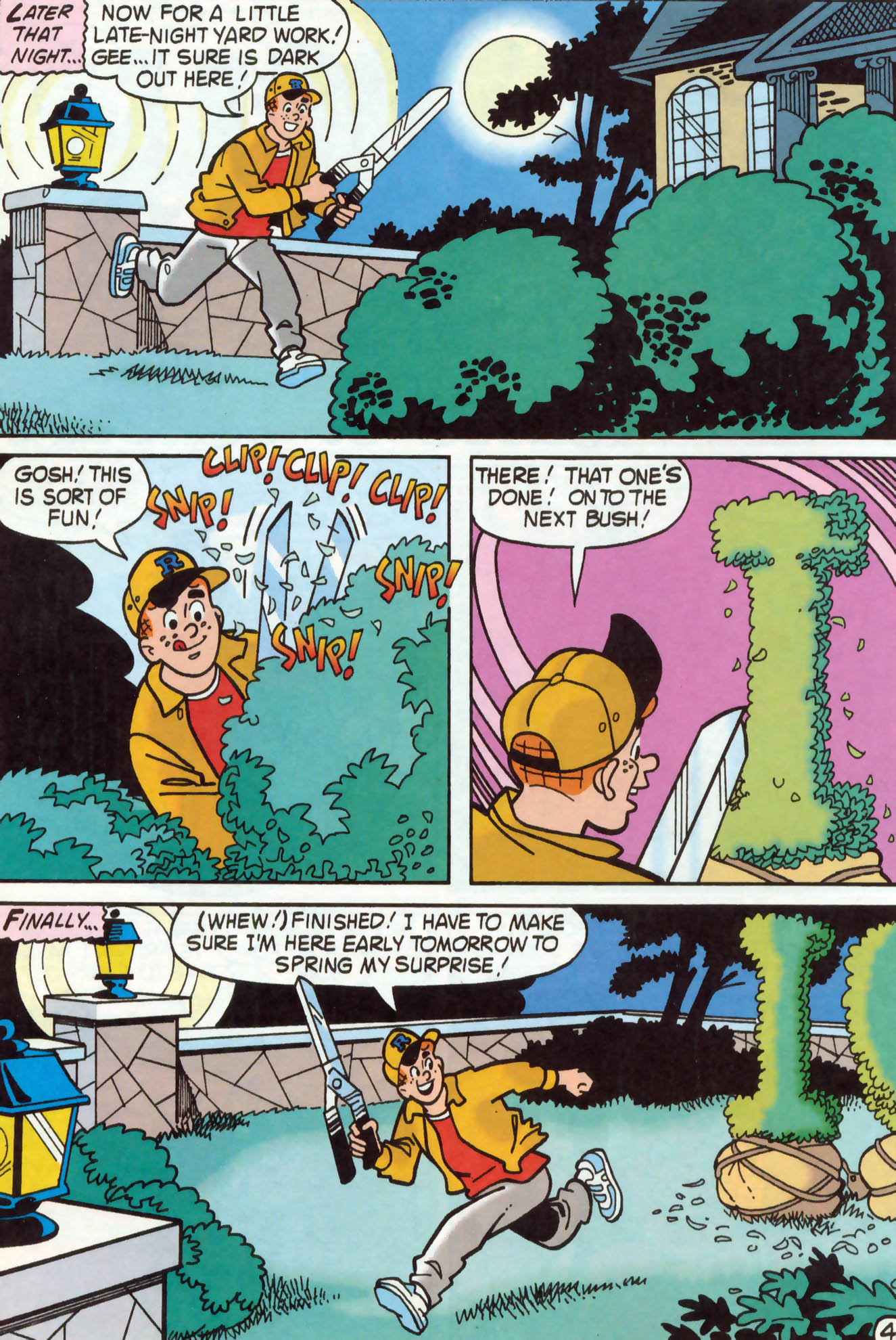 Read online Archie (1960) comic -  Issue #462 - 11