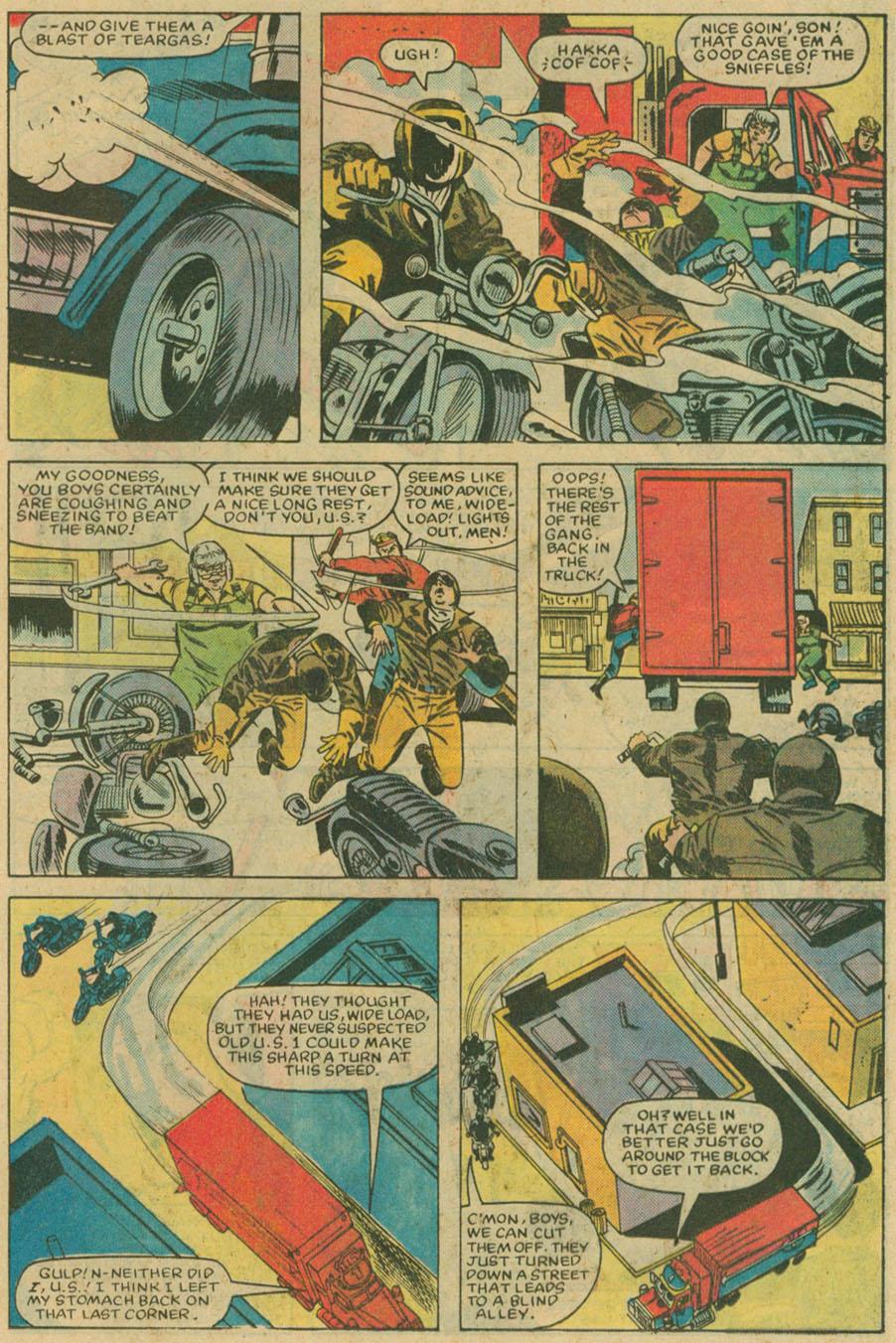 Read online U.S. 1 comic -  Issue #6 - 18