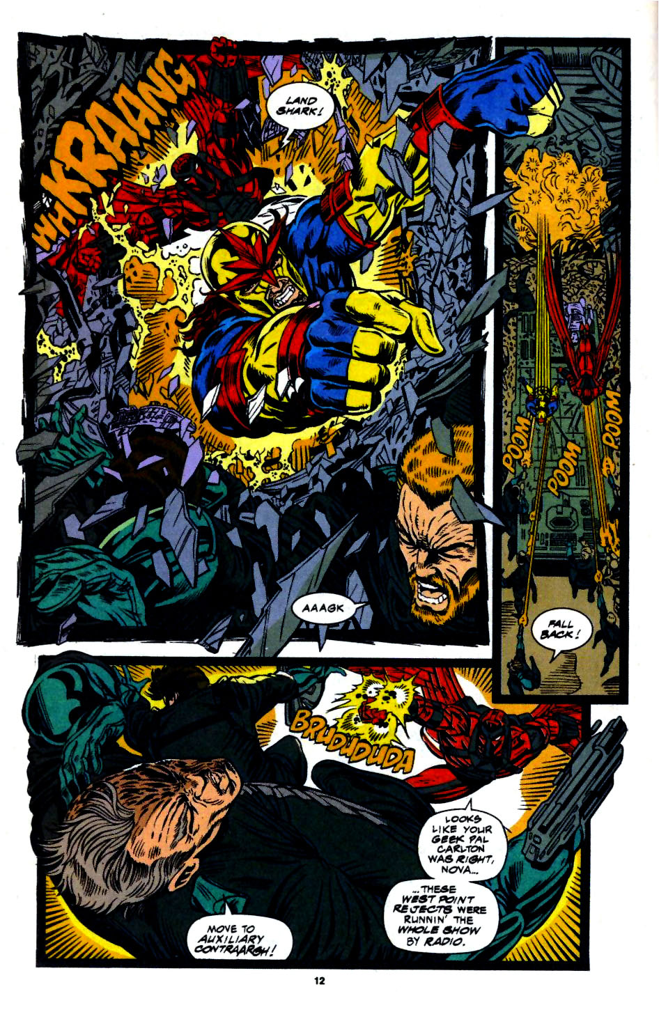The New Warriors Issue #56 #60 - English 8