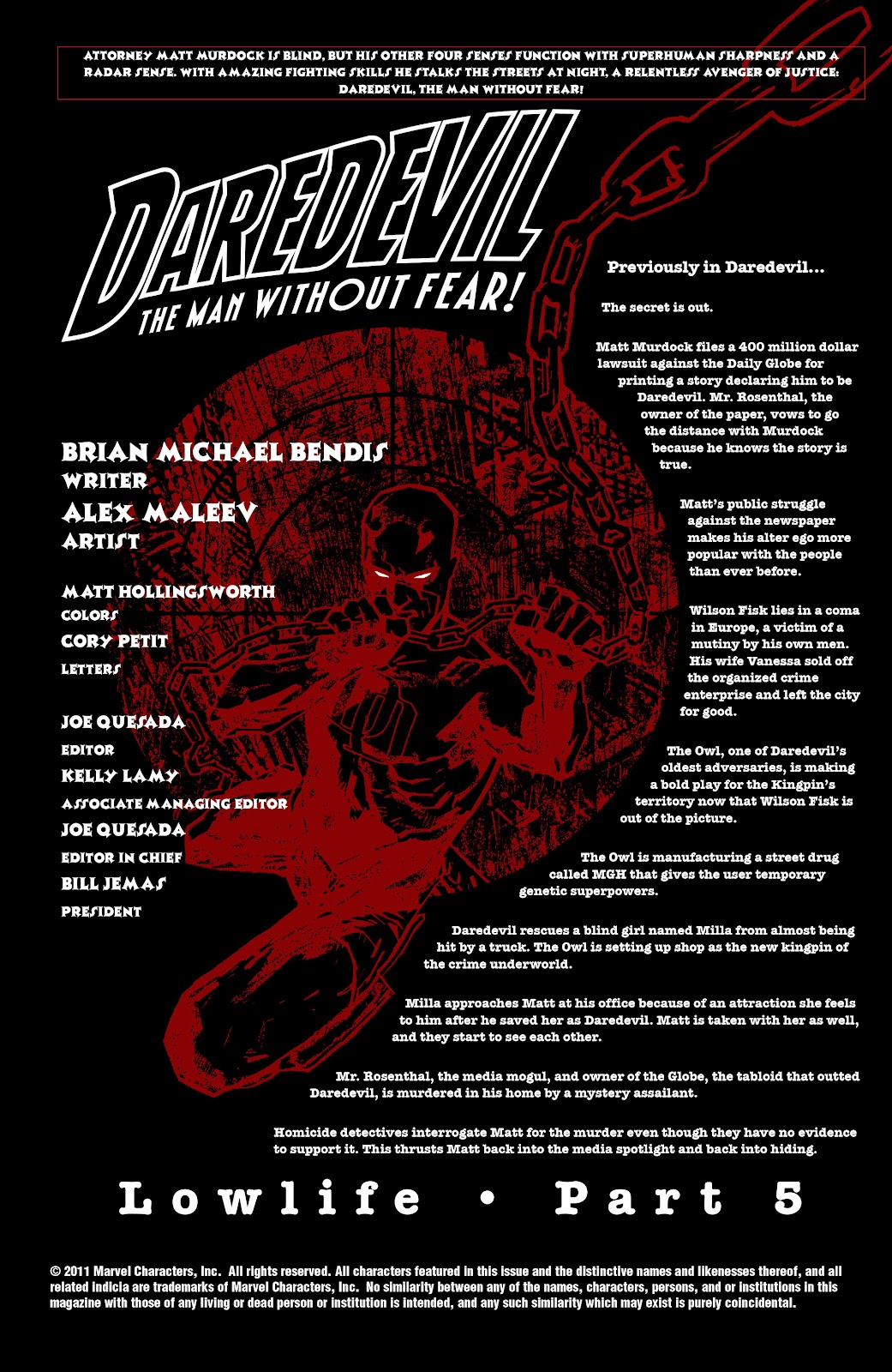 Read online Daredevil (1998) comic -  Issue # _Ultimate_Collection TPB 2 (Part 1) - 90