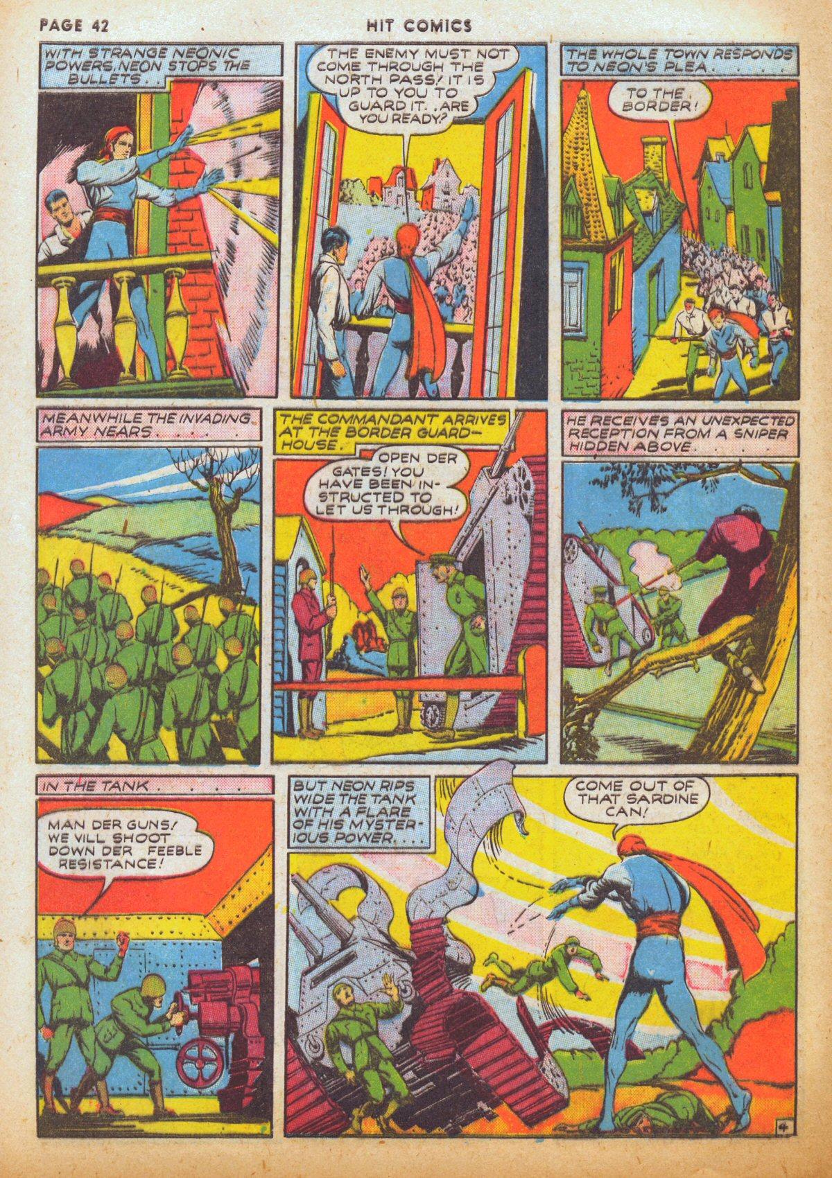 Read online Hit Comics comic -  Issue #12 - 44