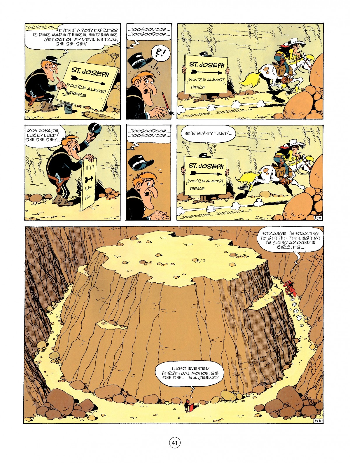 Read online A Lucky Luke Adventure comic -  Issue #46 - 41