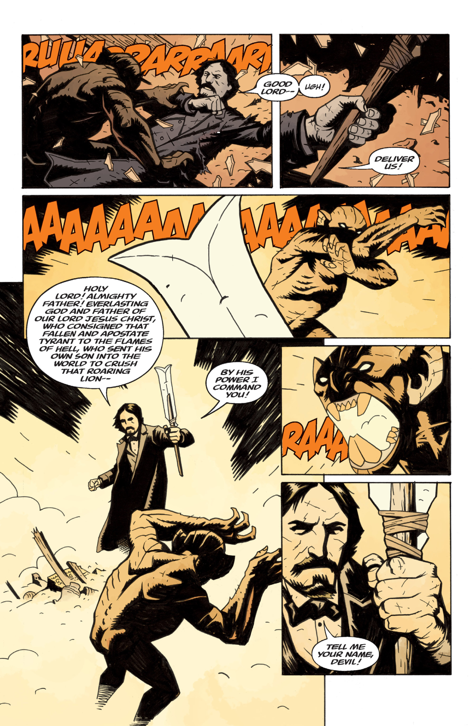Read online Sir Edward Grey, Witchfinder: In the Service of Angels comic -  Issue # TPB - 19