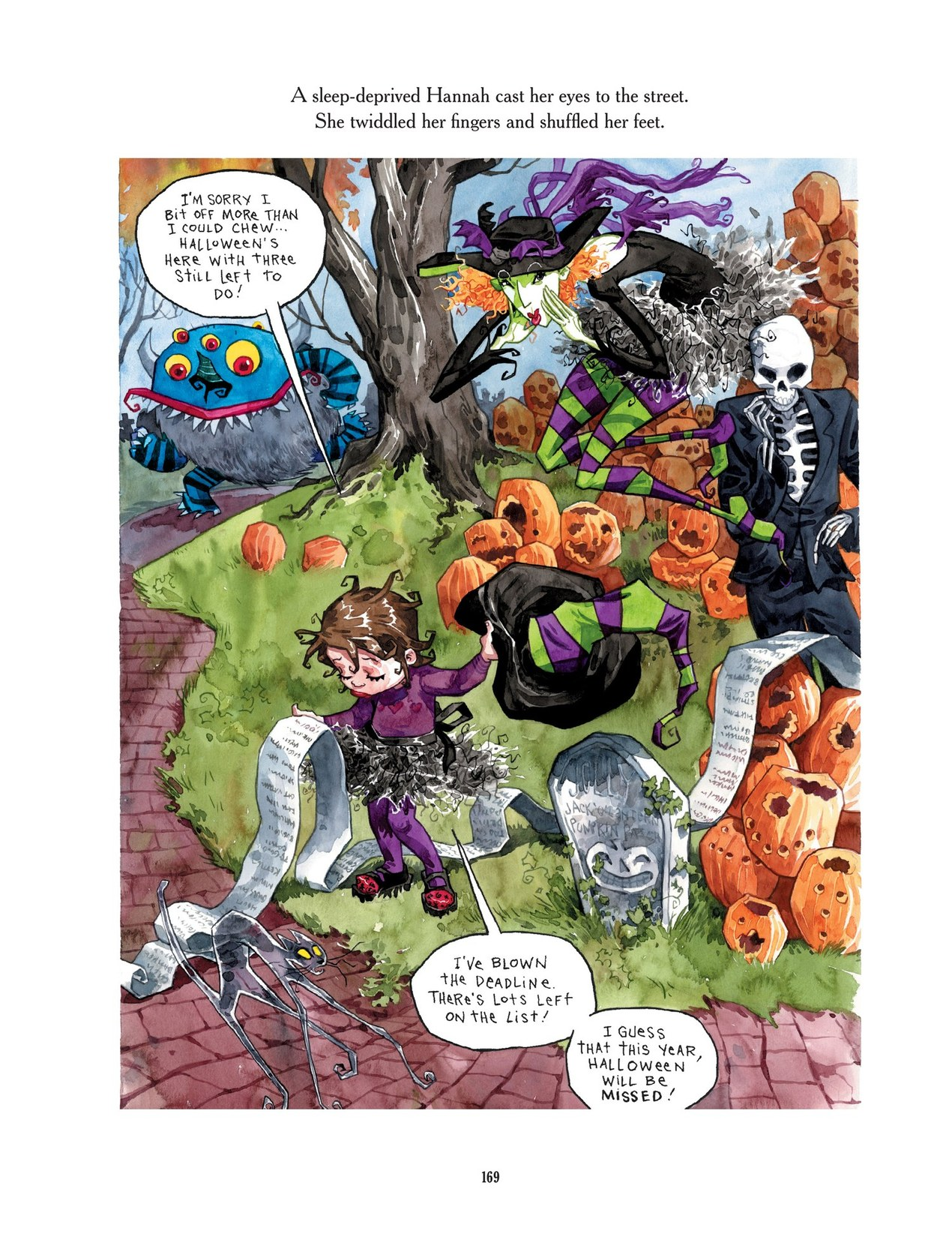 Read online Scary Godmother comic -  Issue # TPB - 169